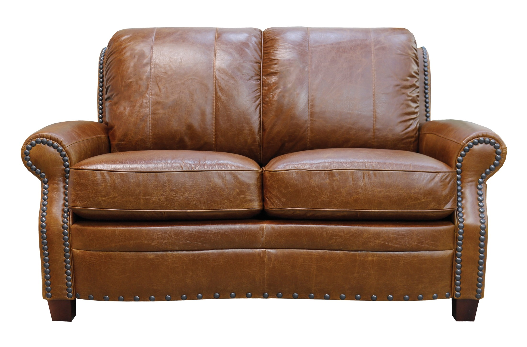 Ashton Italian Leather Loveseat From Luke Leather Coleman Furniture