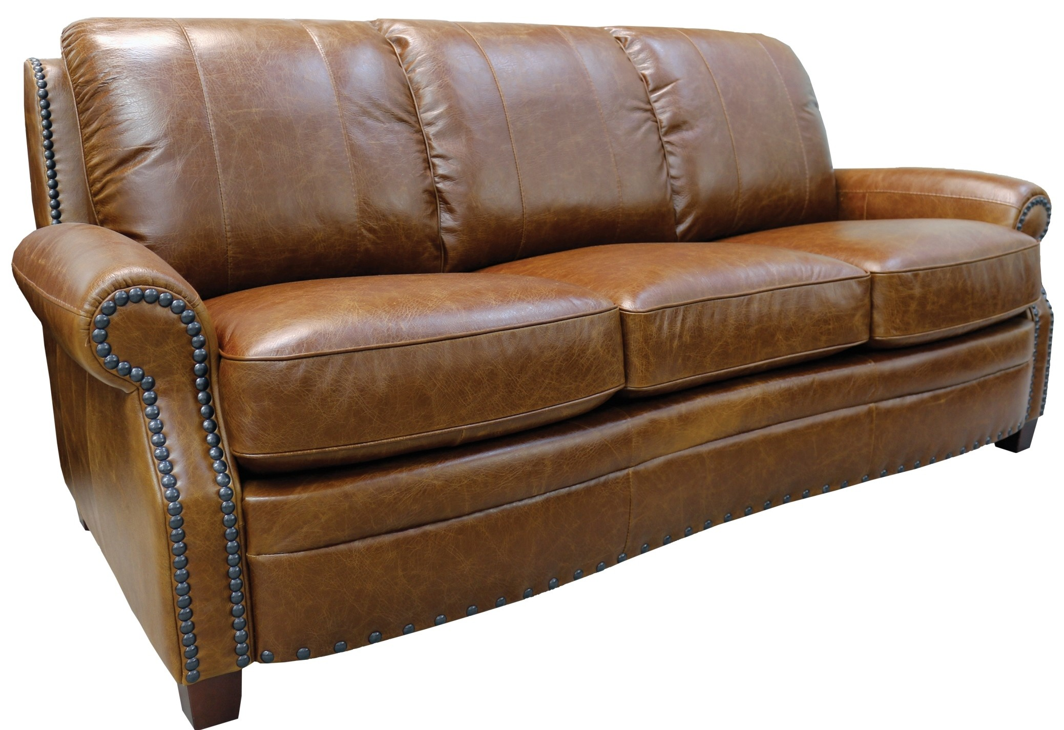 Ashton italian leather sofa from luke leather coleman for Italian leather sofa