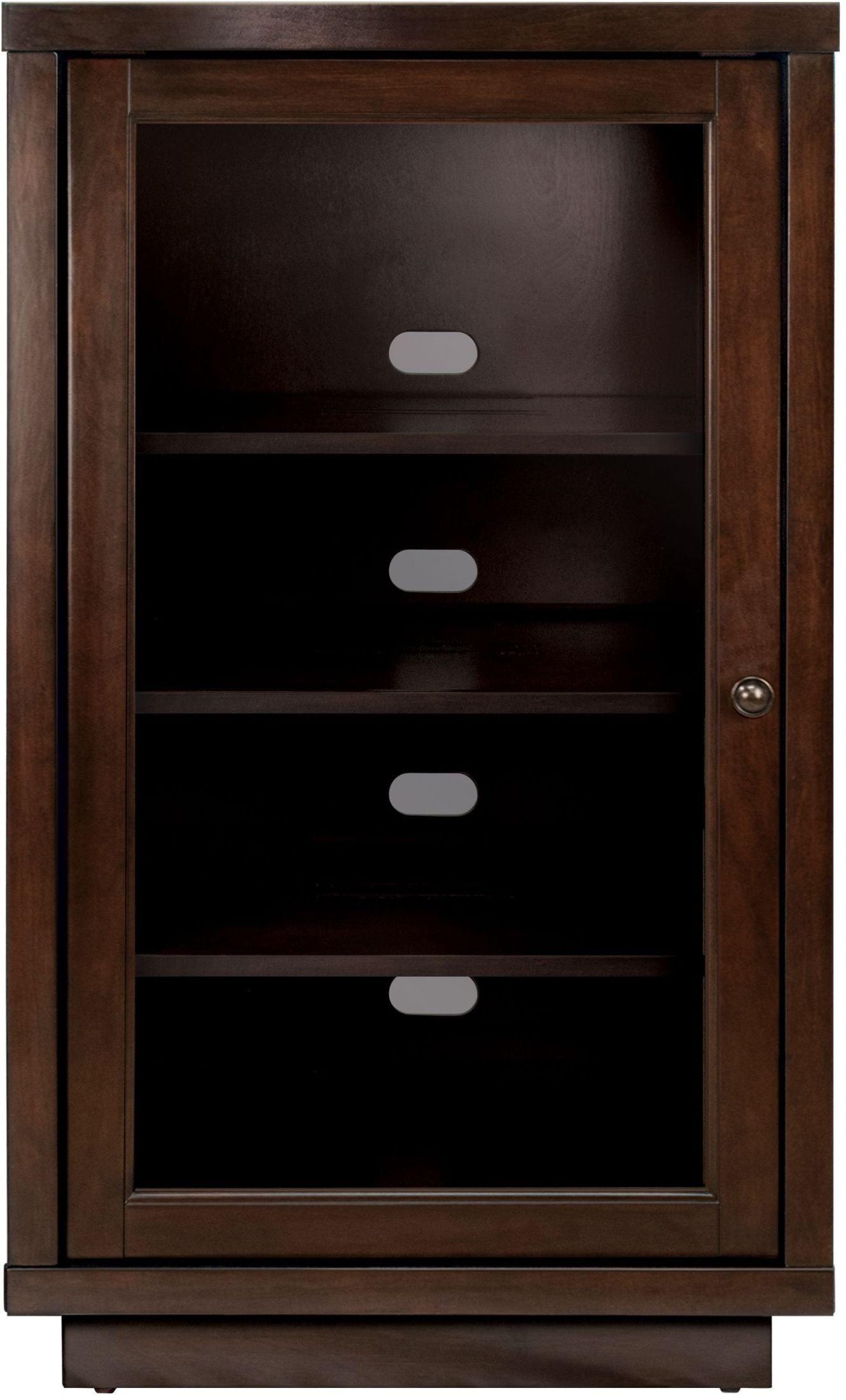 Bellu0027O Dark Espresso Audio Video Component Cabinet From Twin Star  International | Coleman Furniture
