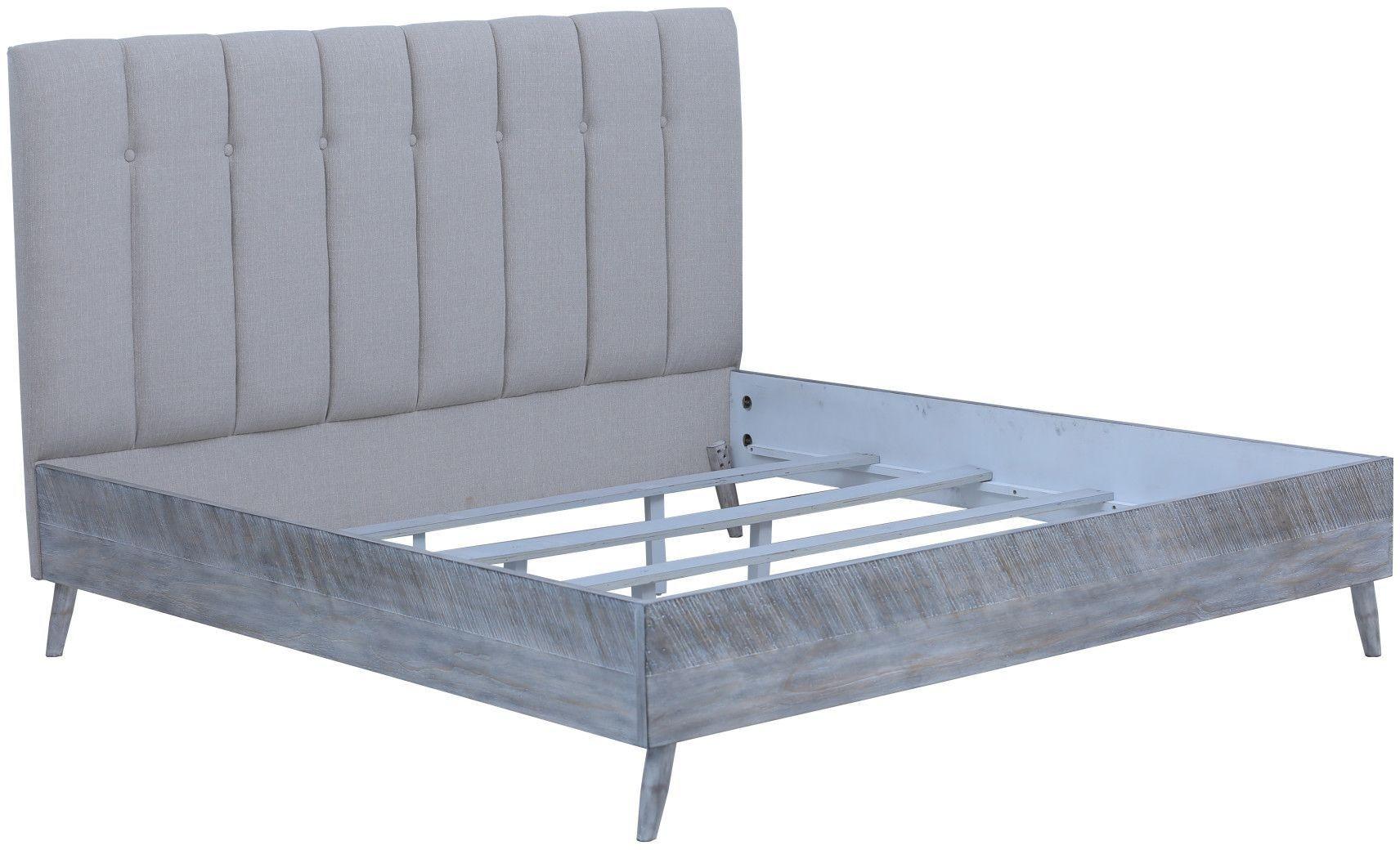 Nova sterling gray platform bedroom set b700 11 k b700 04 - Nova bedroom furniture collection ...