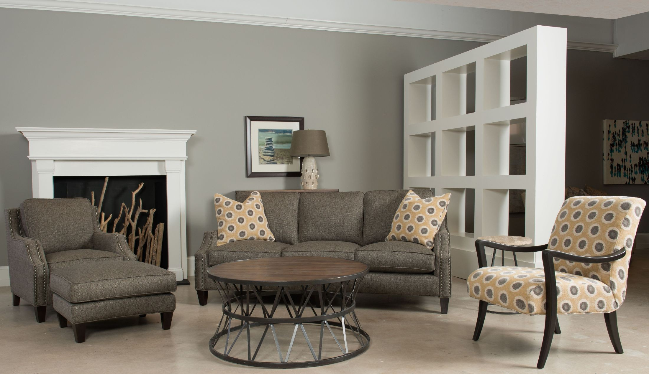 Austin java living room set by sam moore from hooker for Living room austin