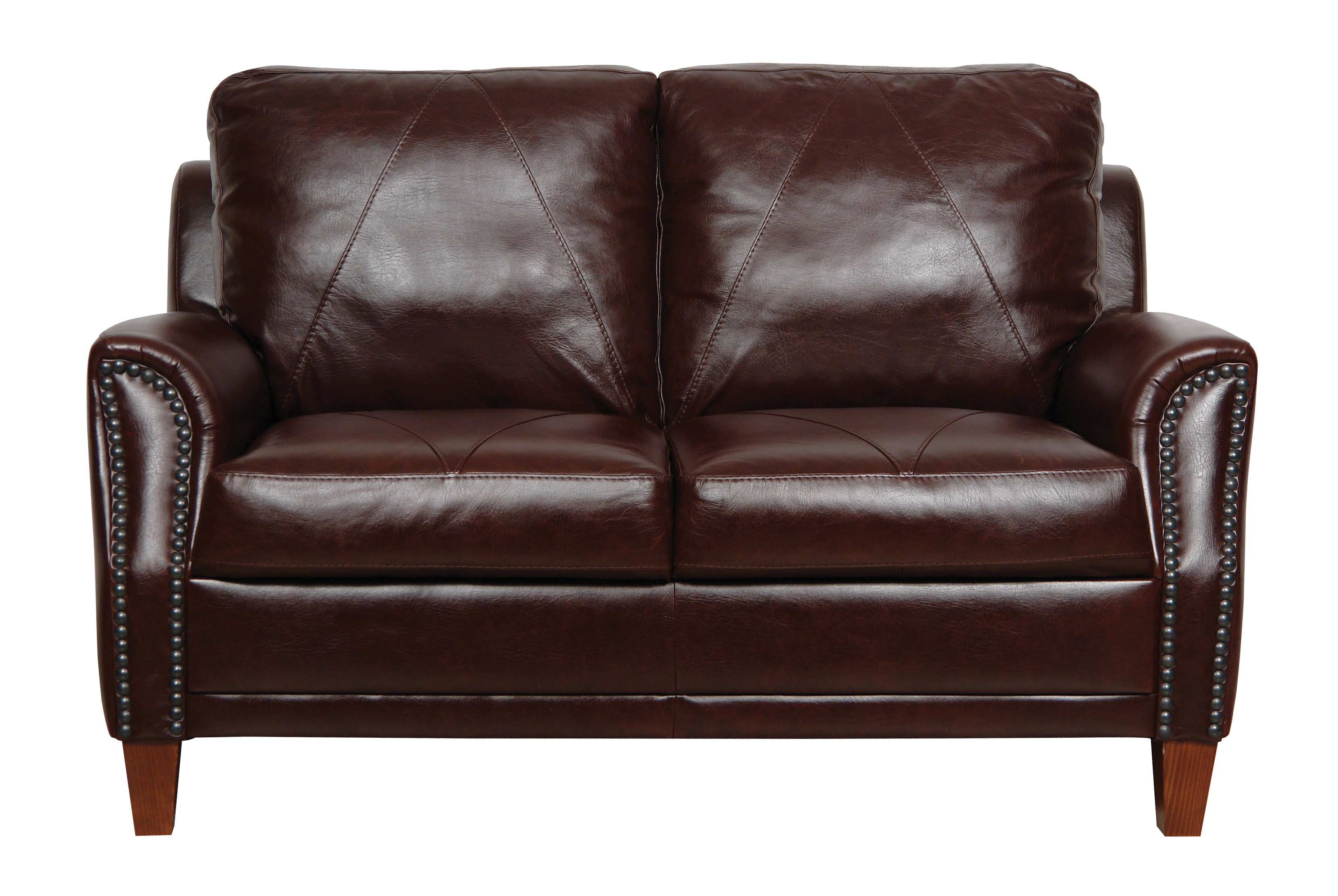Austin Italian Leather Loveseat From Luke Leather Coleman Furniture