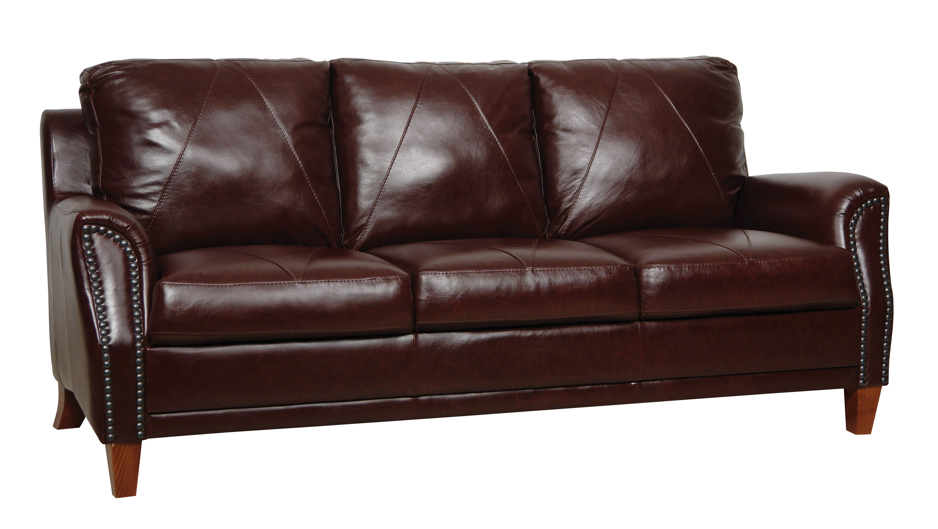 Austin italian leather sofa from luke leather coleman for Furniture leather sofa