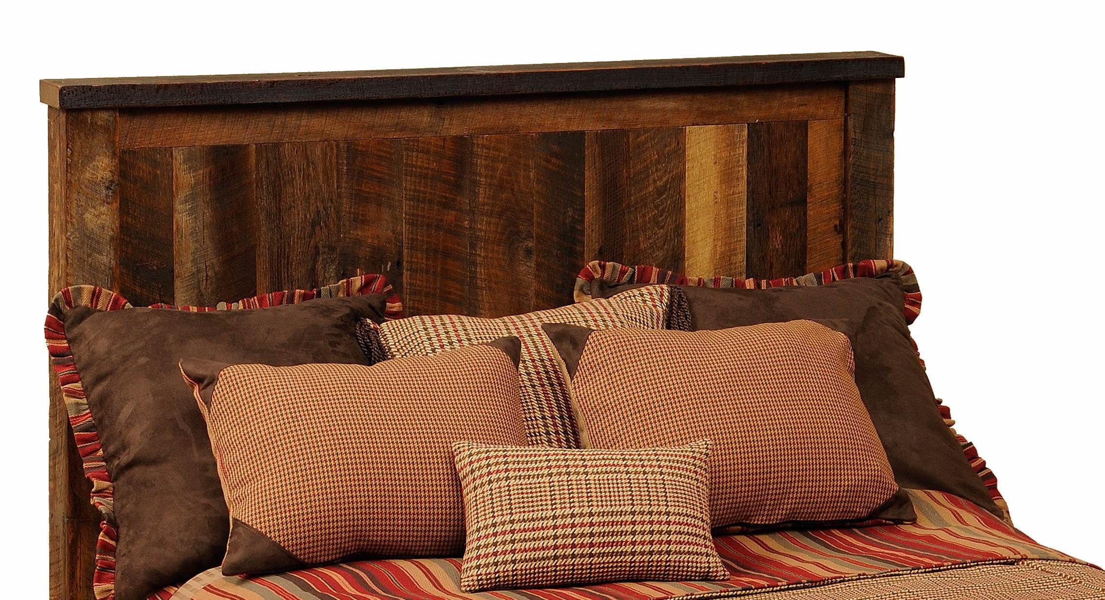 Barnwood Cal King Headboard From Fireside Lodge B10020
