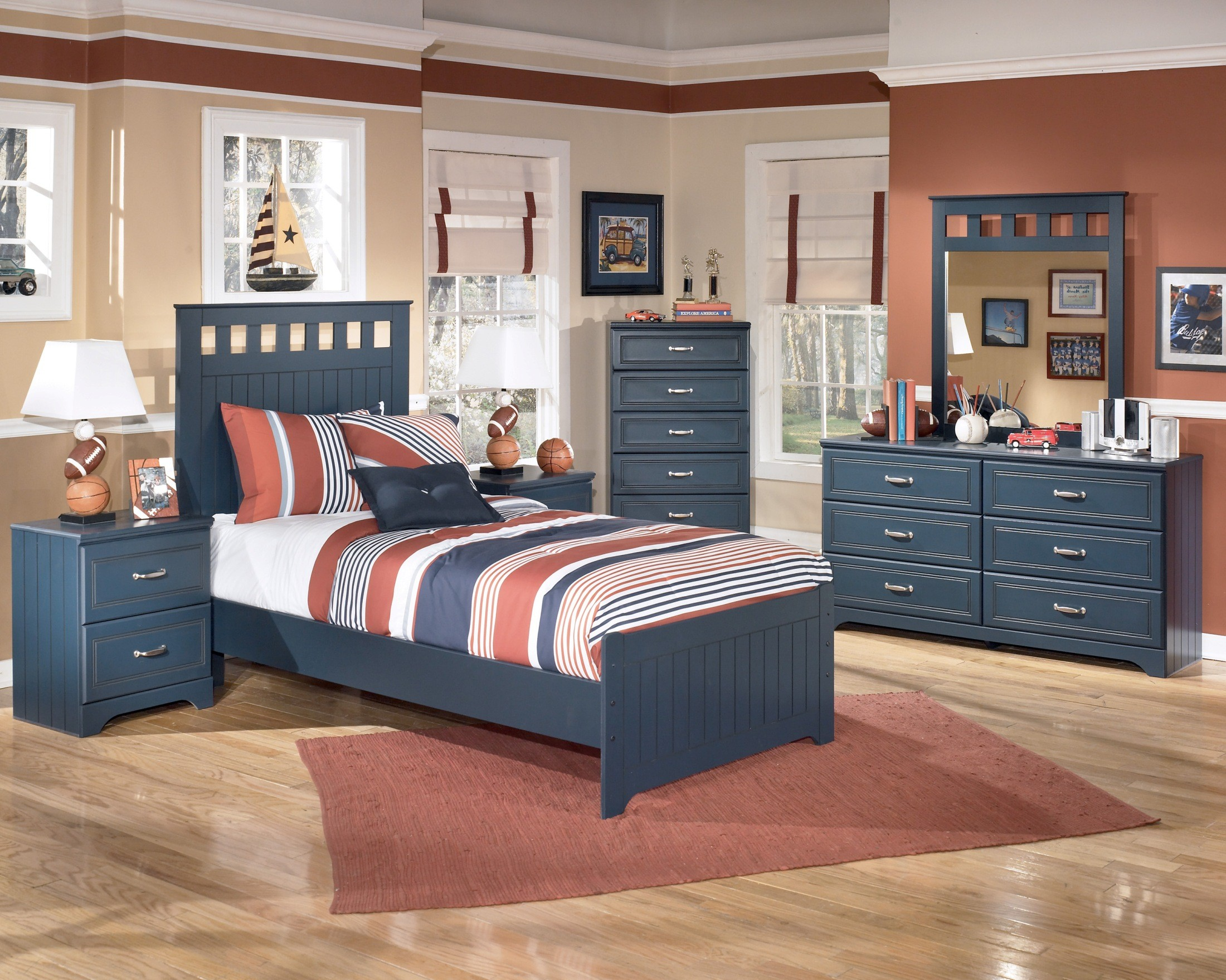 Leo Youth Panel Bedroom Set From Ashley B103 51