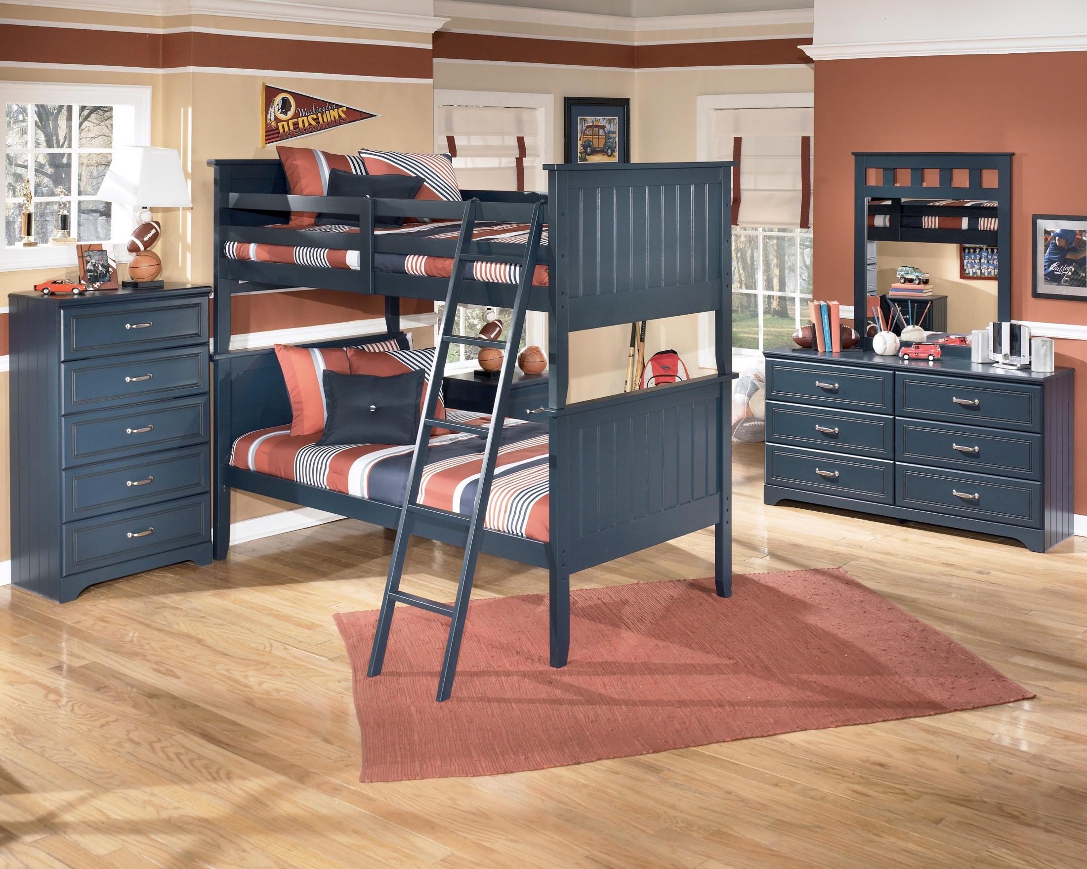 Leo Bunk Bedroom Set From Ashley B103 59 Coleman Furniture