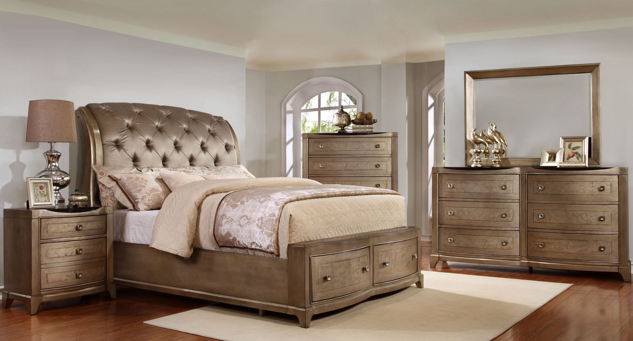 Perfect 2255840 Uptown Translucent Champagne Dresser From Avalon Furniture. Avalon  Bedroom Set.