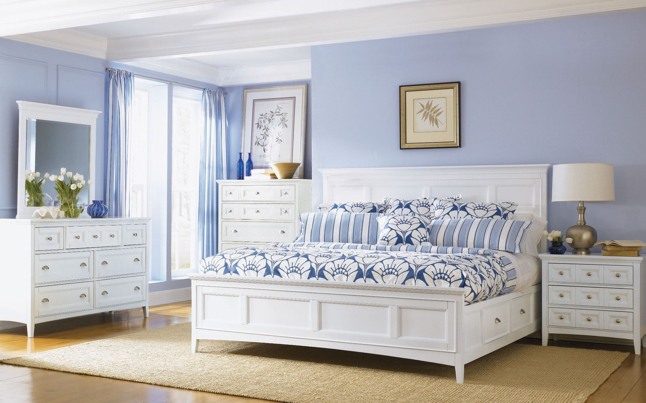 Kentwood Panel Bedroom Set from Magnussen Home (B1475-54H