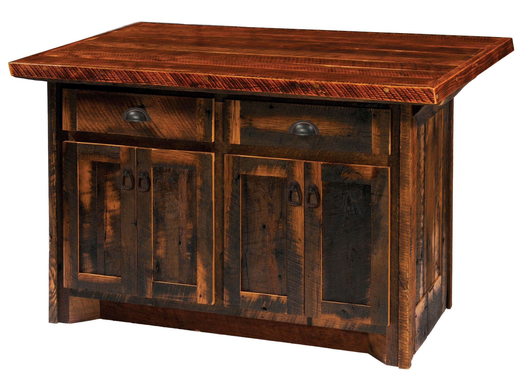barnwood kitchen island barnwood 60 quot artisan top kitchen island from fireside 1488