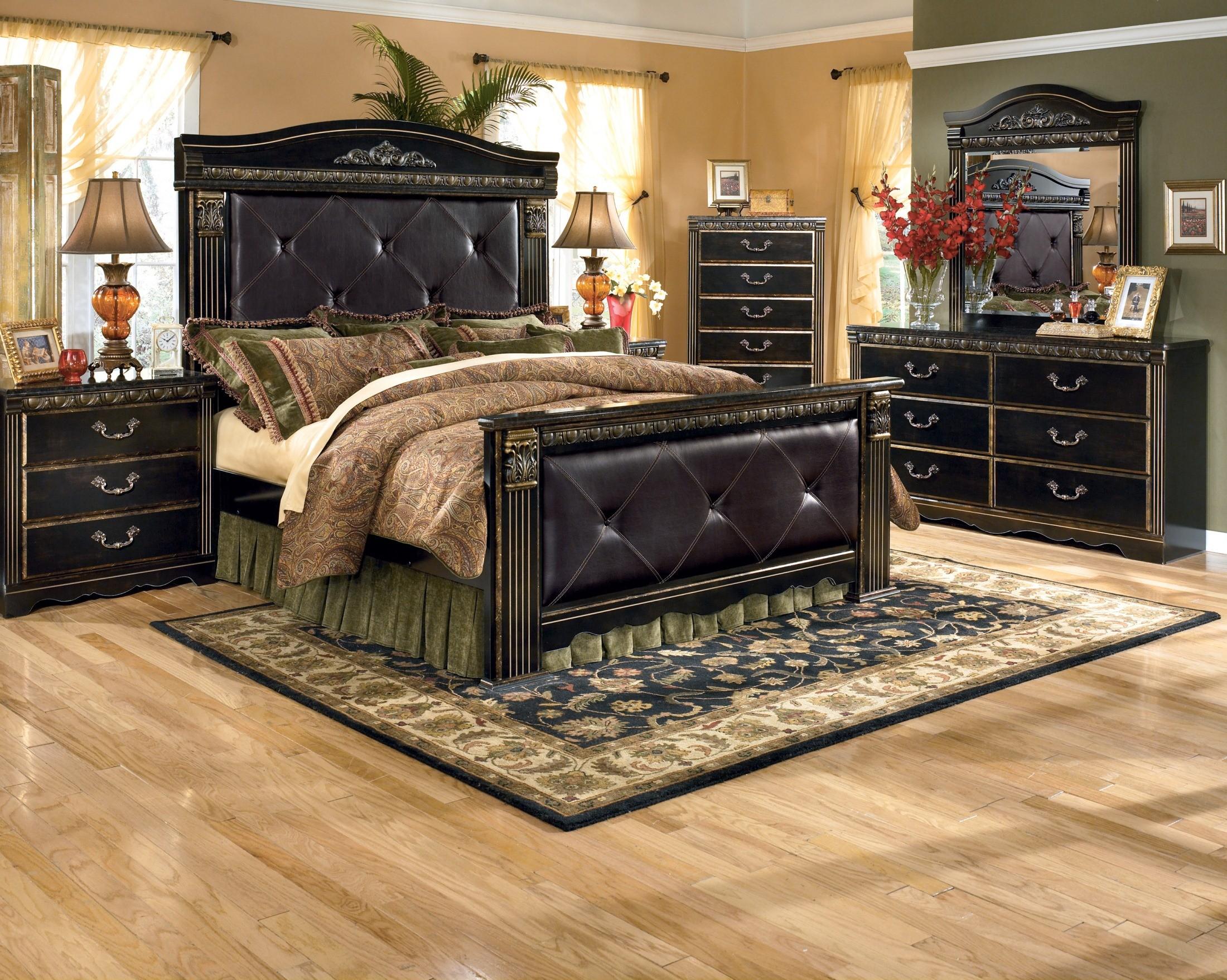 Coal Creek Mansion Bedroom Set From Ashley B Coleman Furniture - Ashley bedroom furniture collections