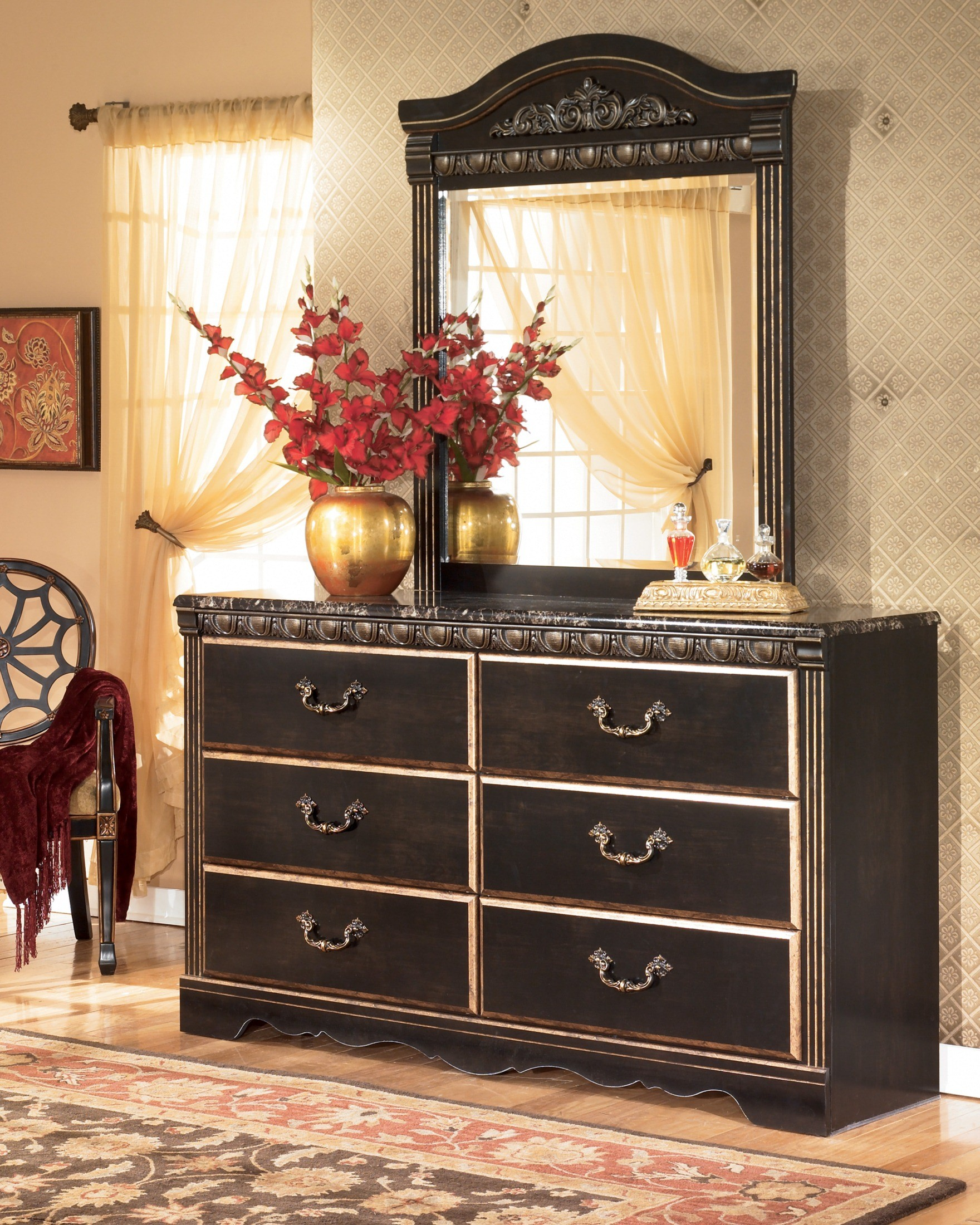 Coal Creek Mansion Bedroom Set from Ashley (B175) | Coleman Furniture