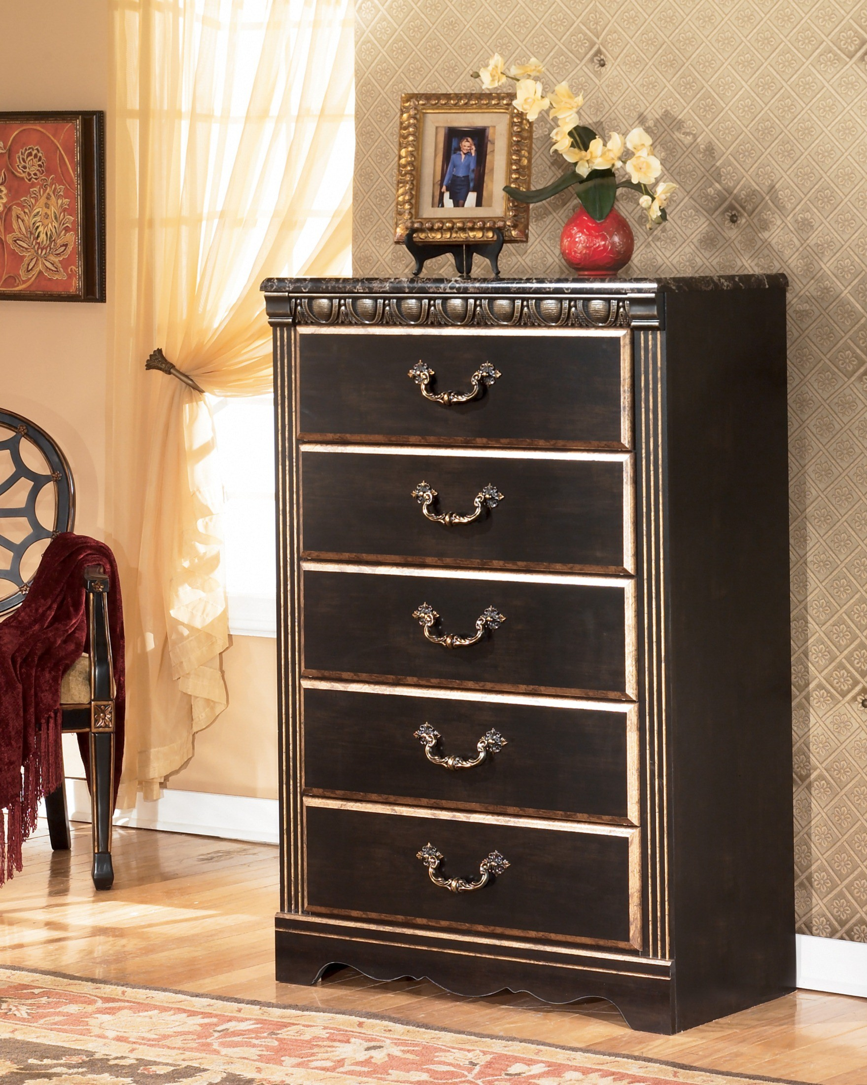Coal Creek Mansion Bedroom Set from Ashley B175