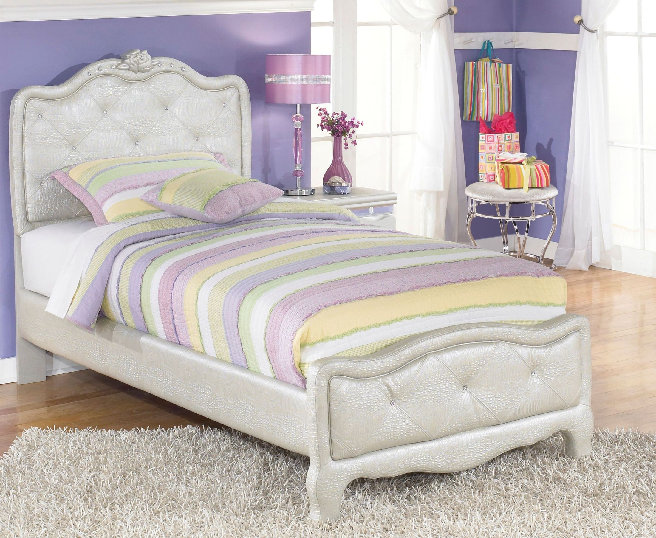 Zarollina Youth Upholstered Bedroom Set From Ashley B182