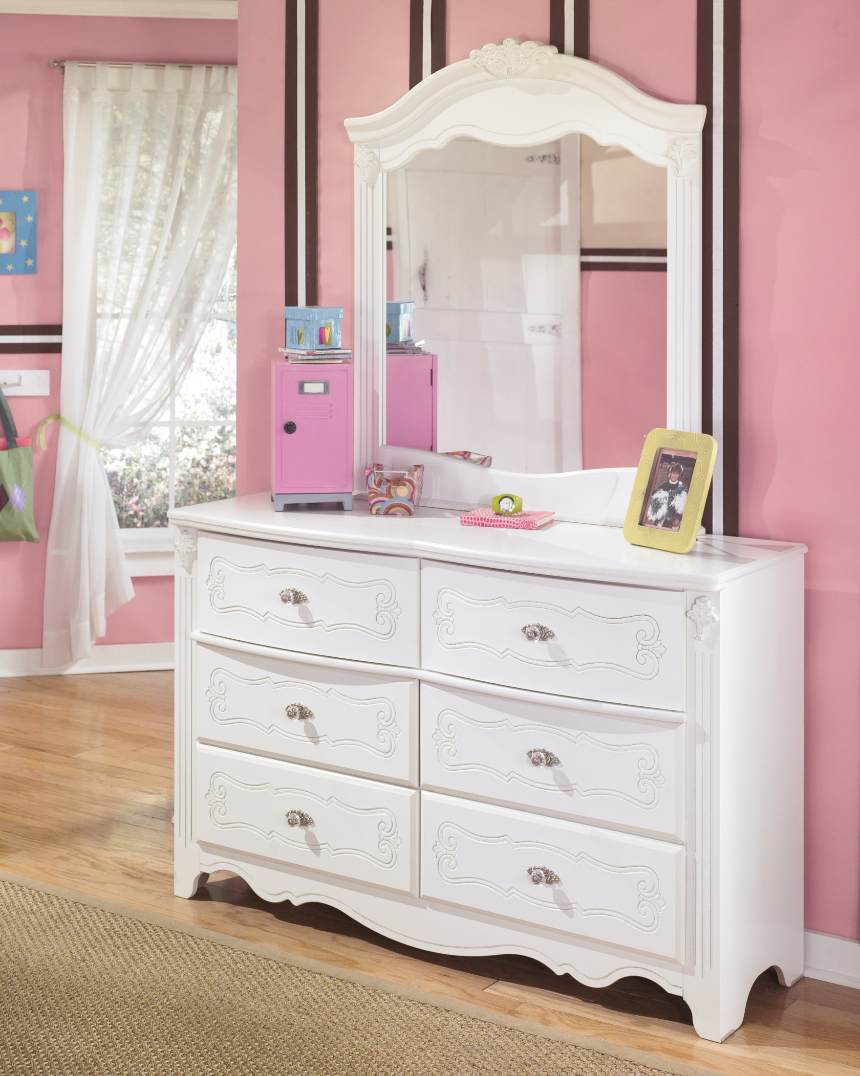 Exquisite Poster Bedroom Set from Ashley (ASL-B188-71-82N) | Coleman ...
