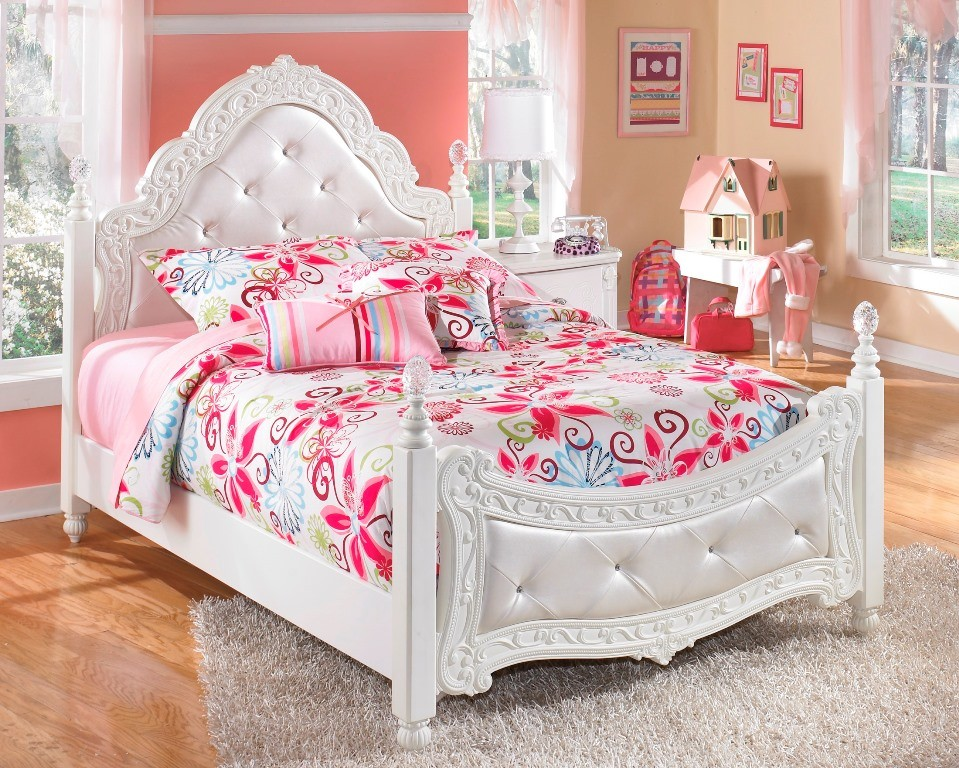 exquisite full poster bed from ashley (b188-72-89