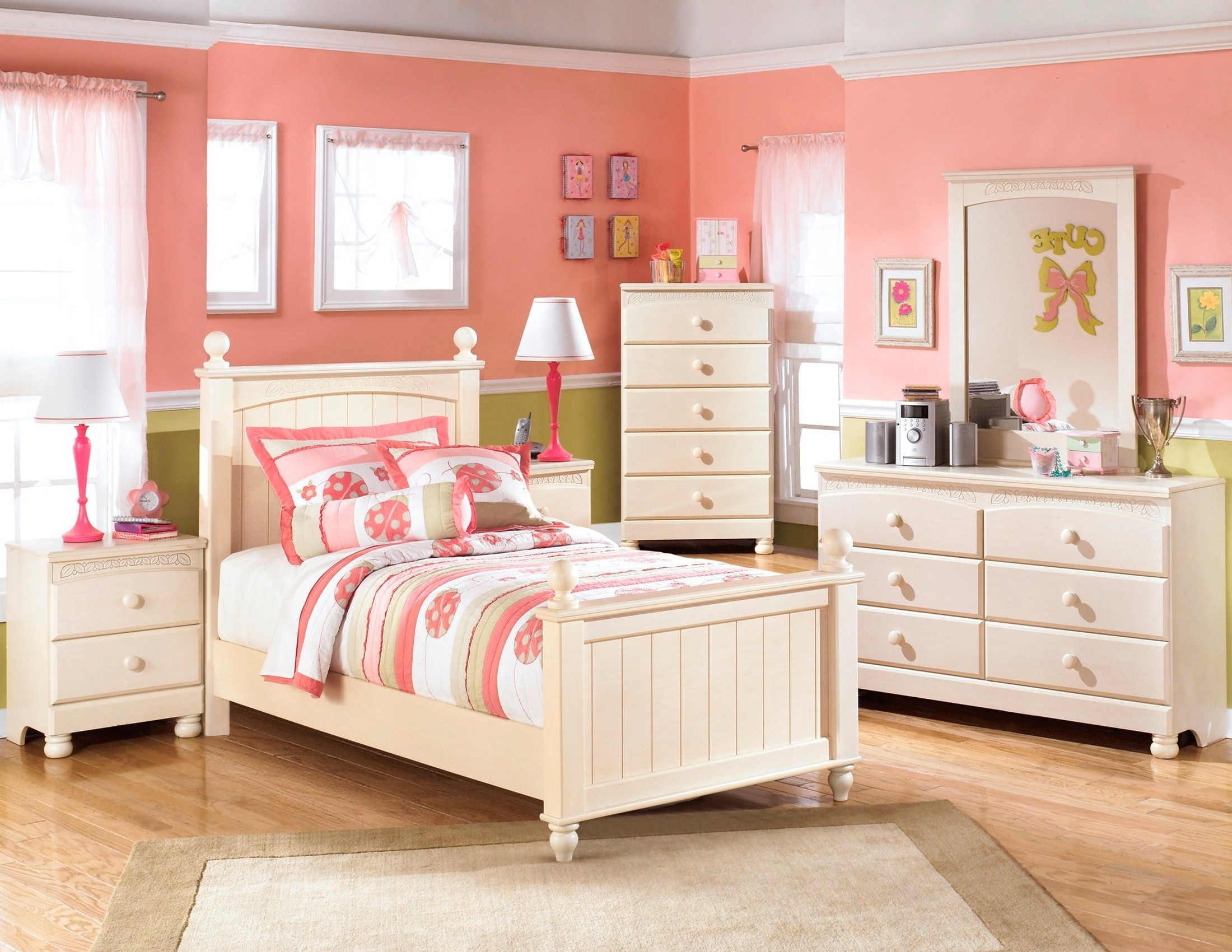 Cottage Retreat Youth Poster Bedroom Set From Ashley B213 51n 52n 83n Coleman Furniture