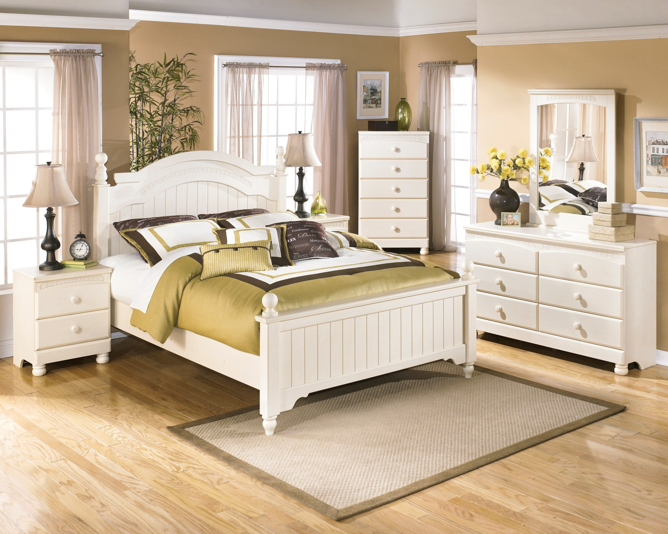 cottage retreat bedroom set cottage retreat youth poster bedroom set from b213 15027