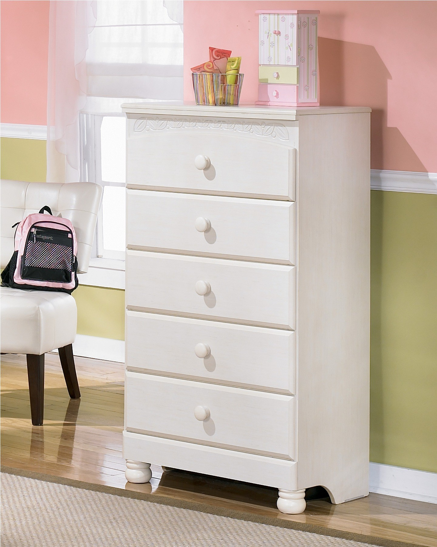 Cottage Retreat Youth Bedside Storage Bedroom Set from Ashley (B213 ...