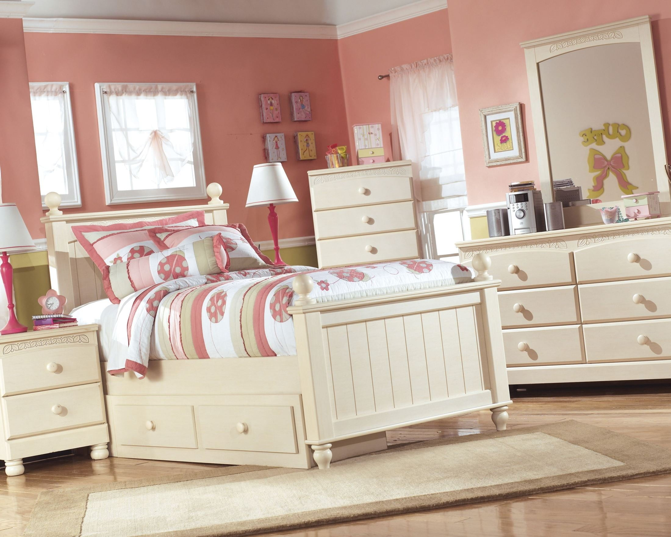 ii bed bedroom collection white retreat furniture cottage