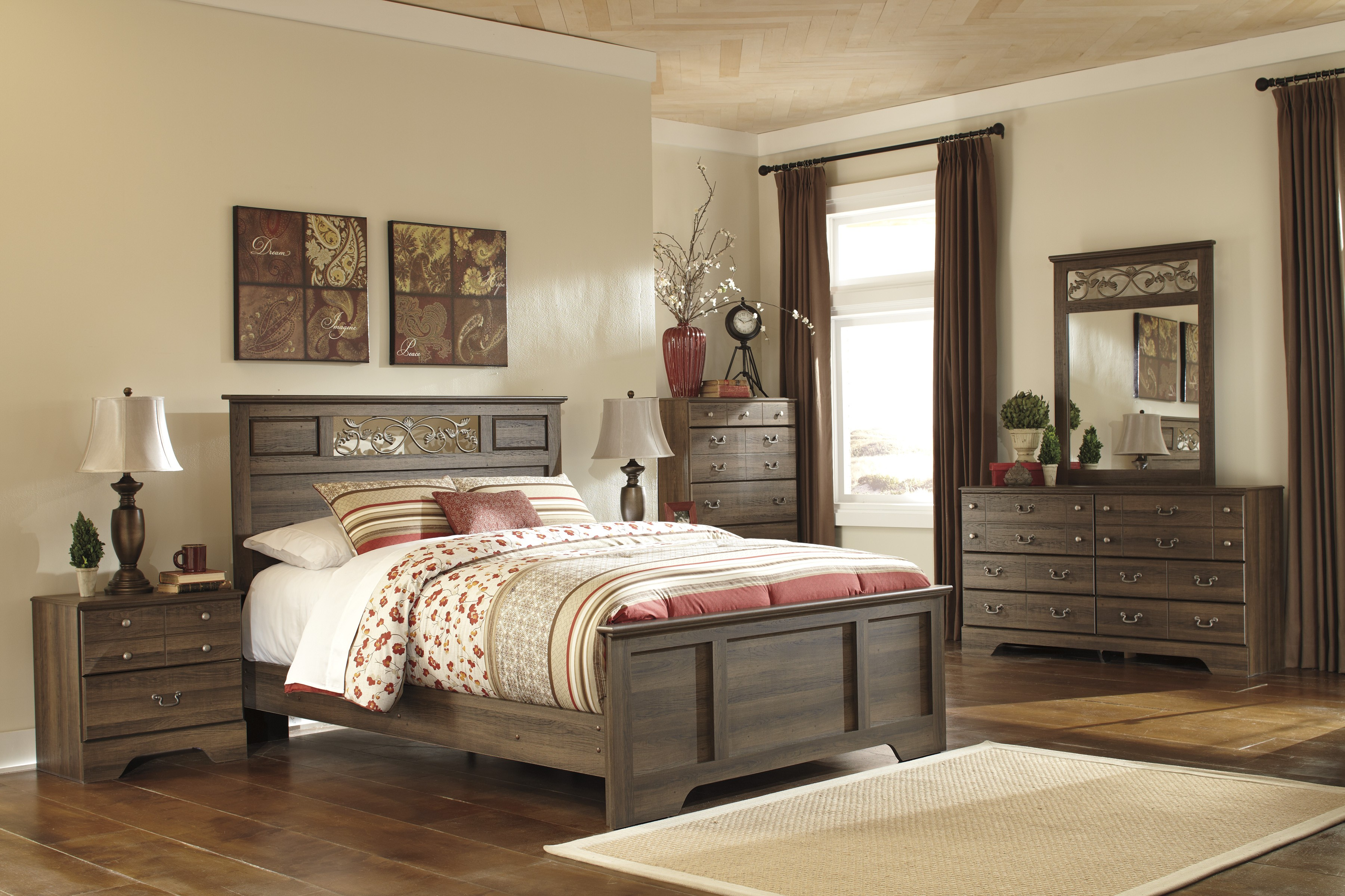 Allymore Panel Bedroom Set From Ashley B216 55 51 98 Coleman Furniture