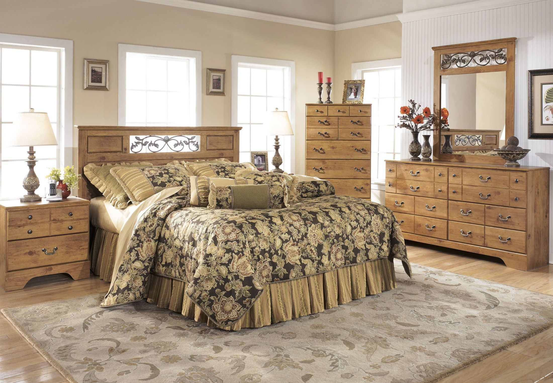 Bittersweet Panel Bedroom Set From Ashley B219 55 51 98 Coleman Furniture