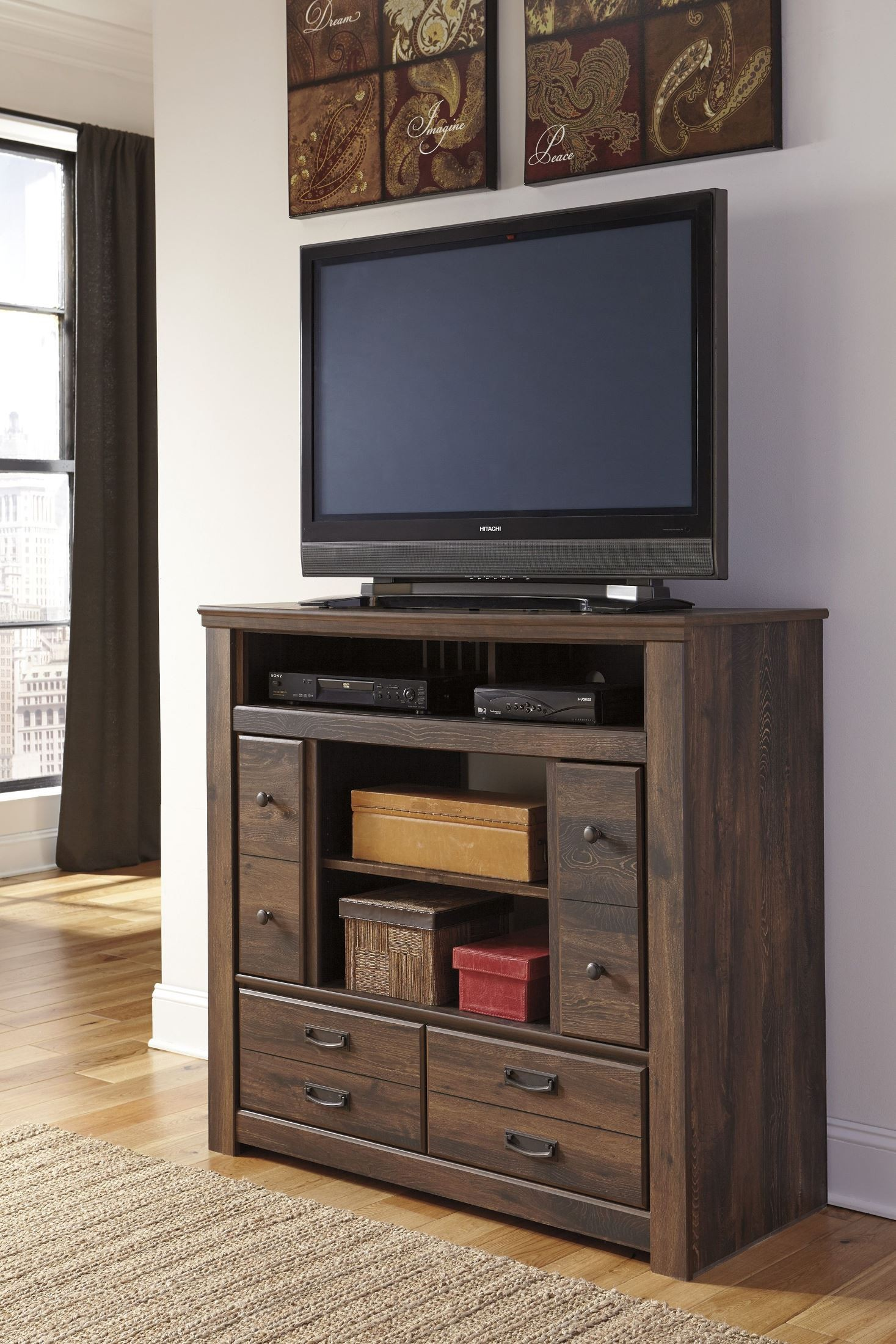 p bisque drawers muse media chest with furniture universal moderne in