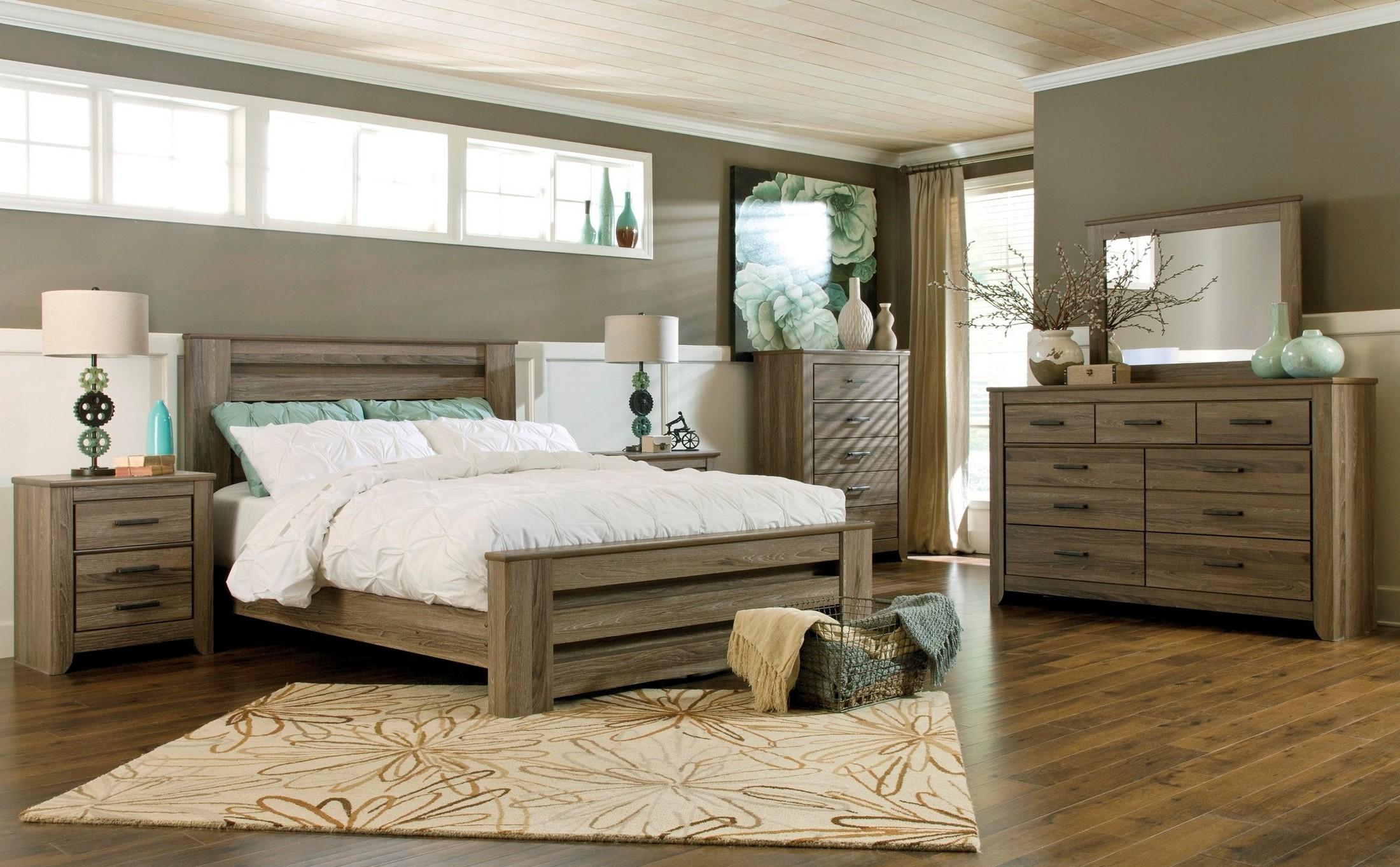 Zelen Poster Bedroom Set From Ashley B248 67 64 98