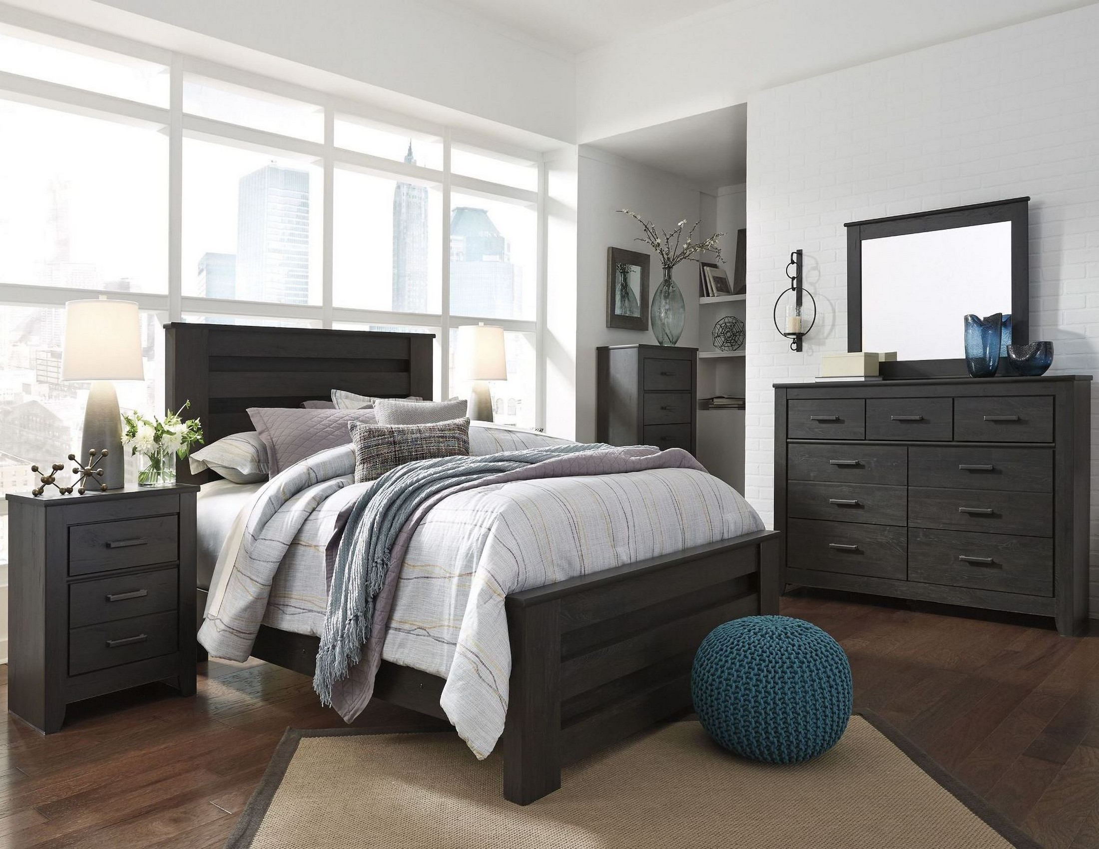 Brinxton Black Poster Bedroom Set From Ashley Coleman