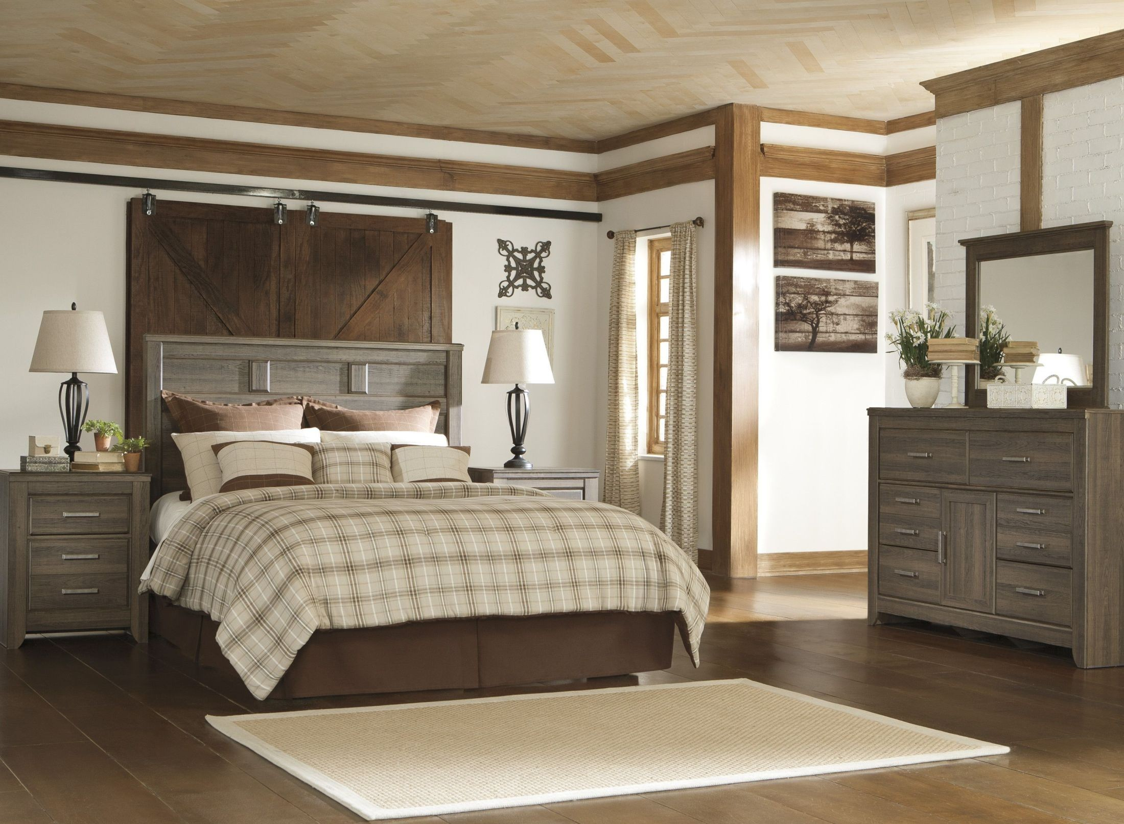 Juararo Panel Bedroom Set From Ashley B251 57 54 98 Coleman Furniture