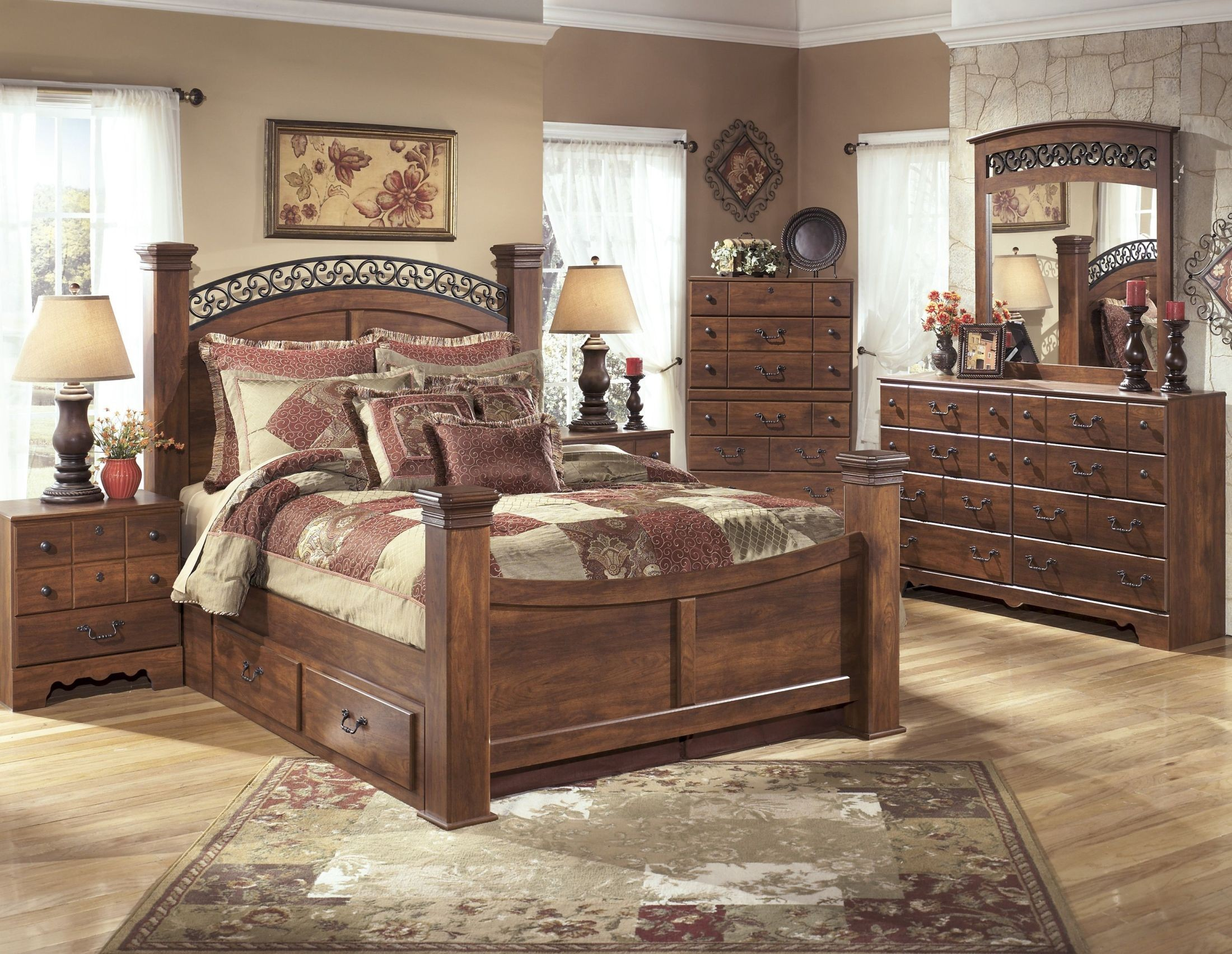 Timberline Bedroom Set From Ashley B258 Coleman Furniture
