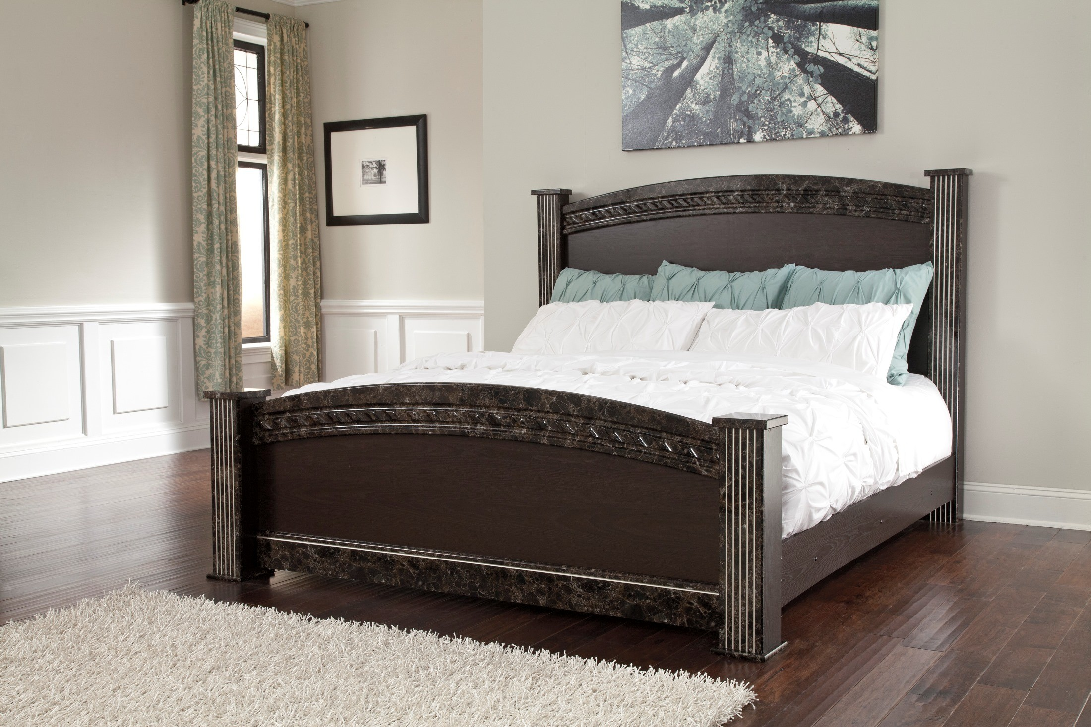 Vachel Queen Poster Bed From Ashley B264 67 64 98 61