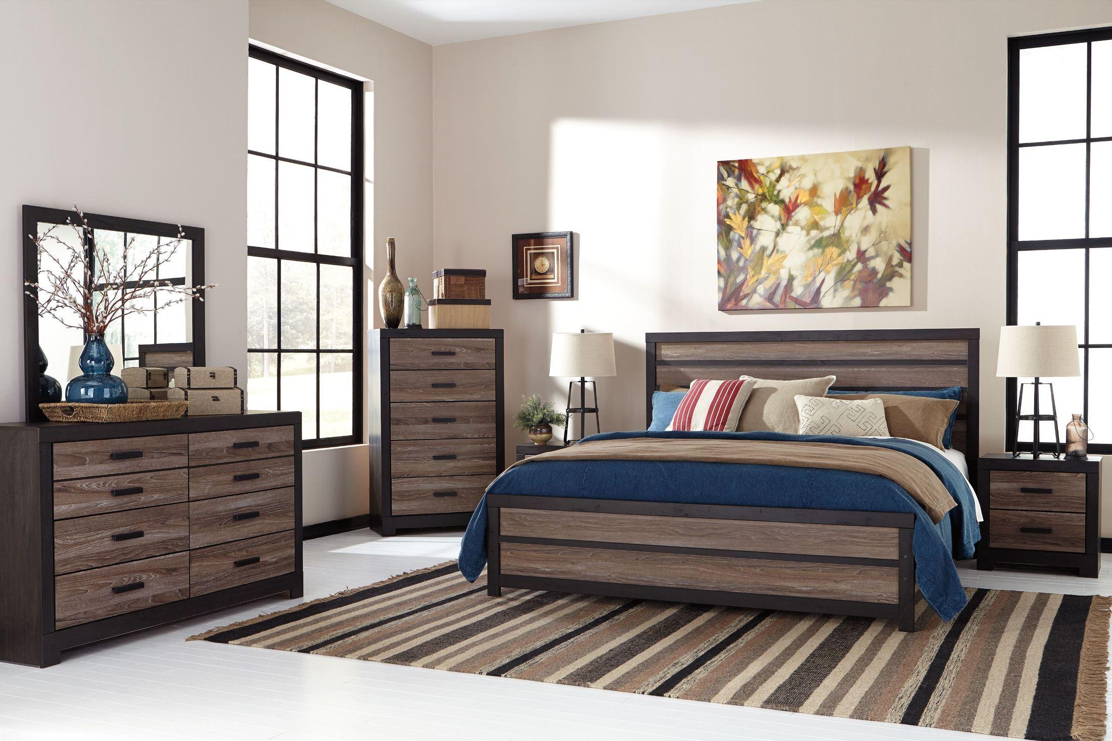 Harlinton Panel Bedroom Set From Ashley B325 57 54 96
