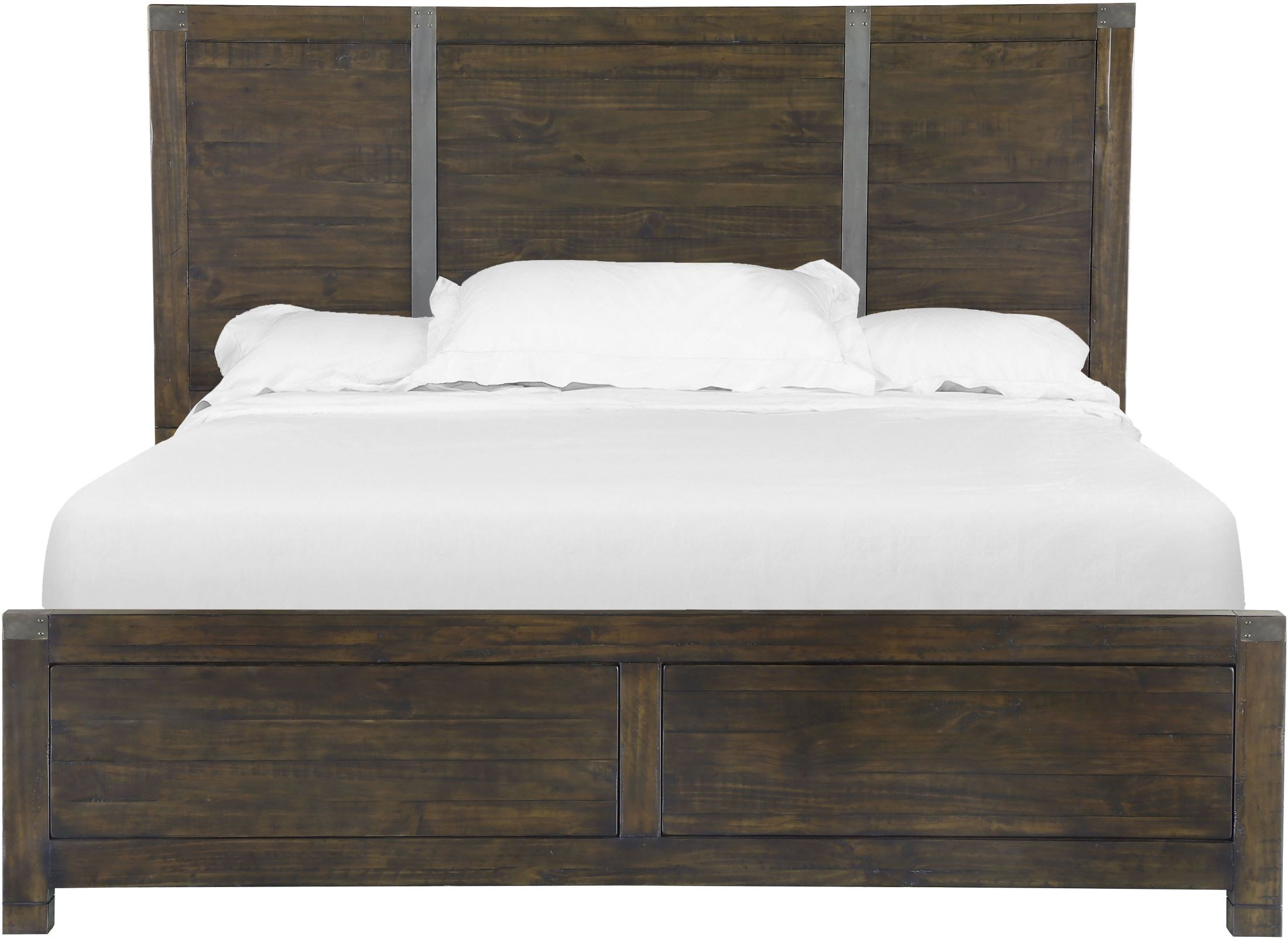 Pine Hill Rustic Pine Panel Bedroom Set from Magnussen Home (B3561 ...