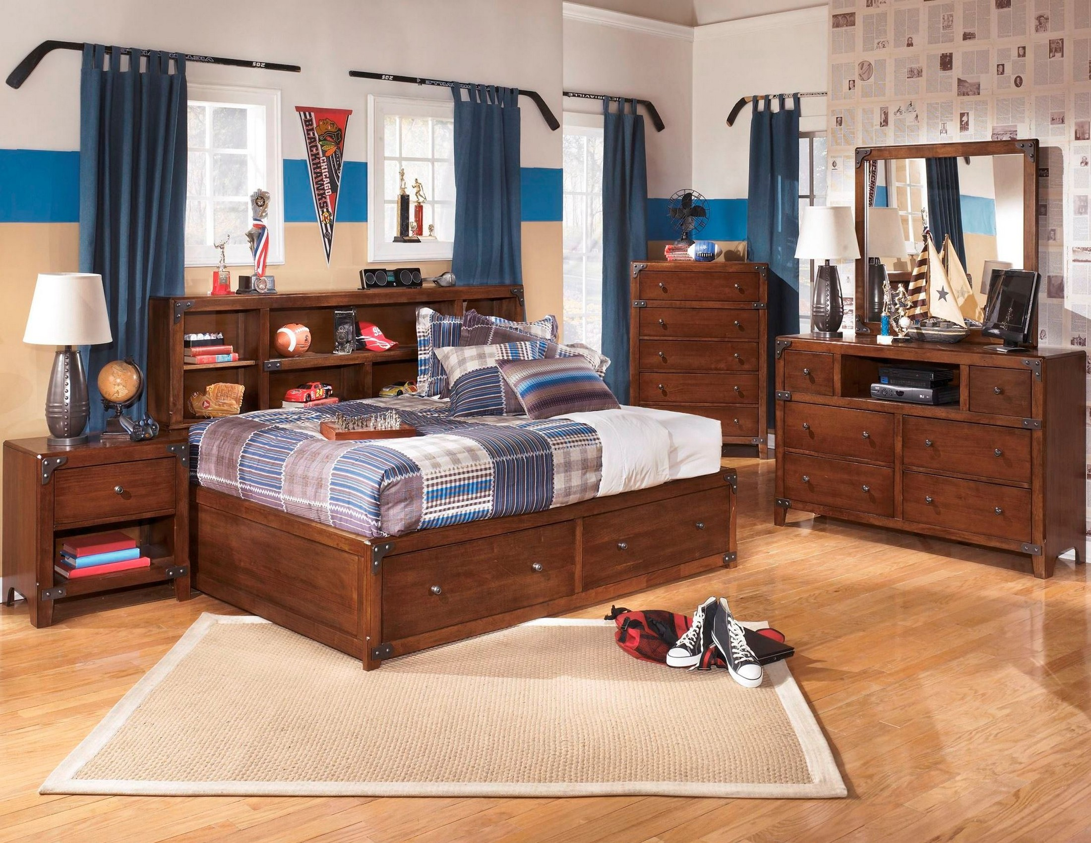 Delburne Youth Bookcase Storage Bedroom Set From Ashley B362 85 51 82 Coleman Furniture