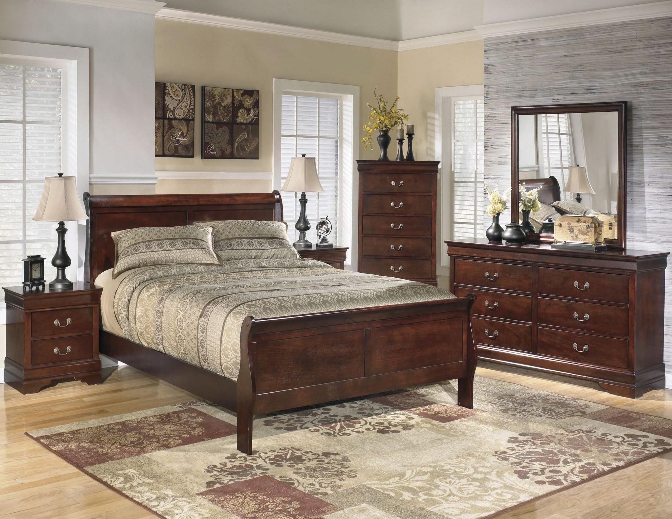 Alisdair sleigh bedroom set from ashley b376 81 96 - Ashley furniture sleigh bedroom set ...