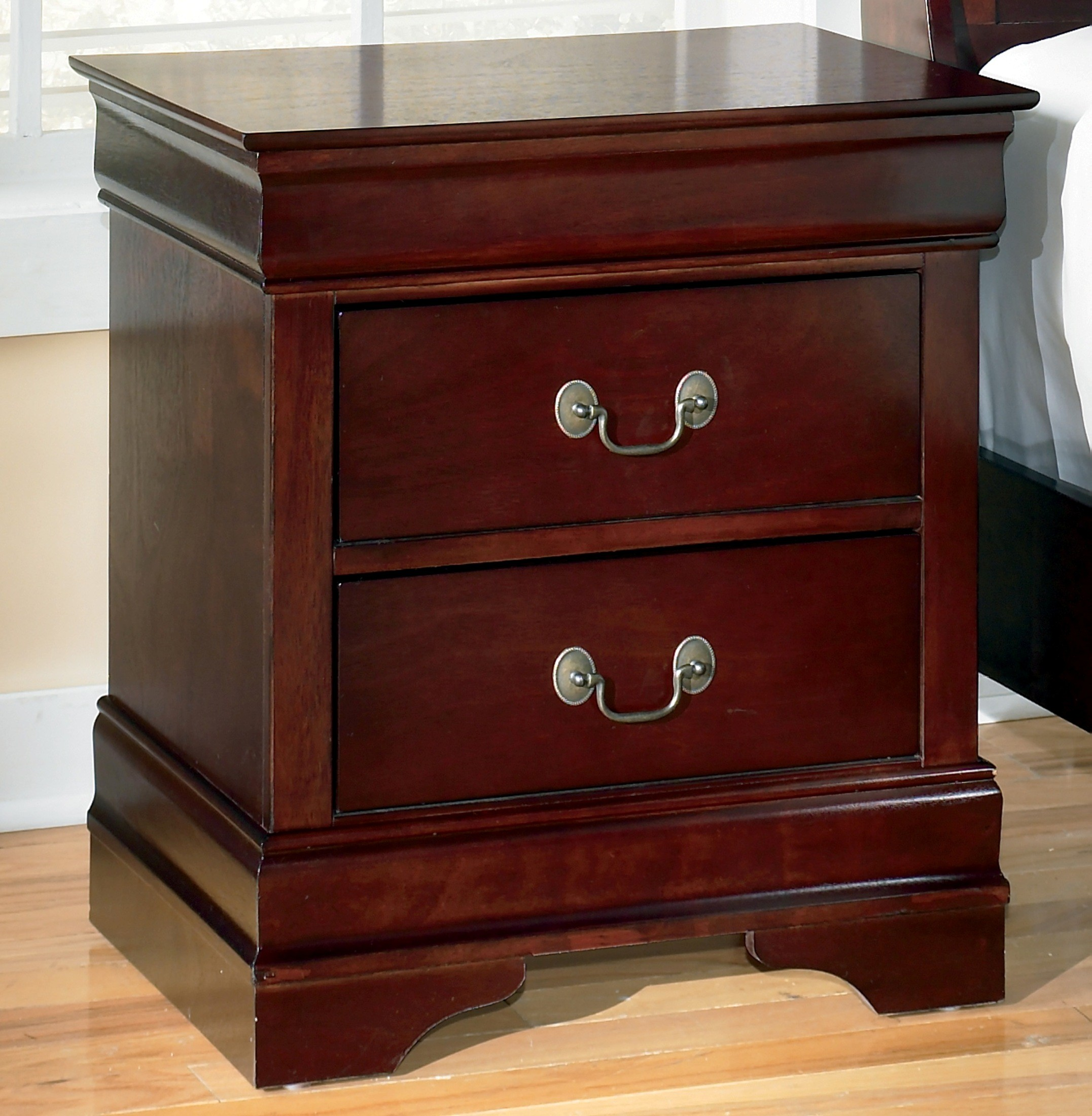Alisdair Two Drawer Night Stand From Ashley B376 92