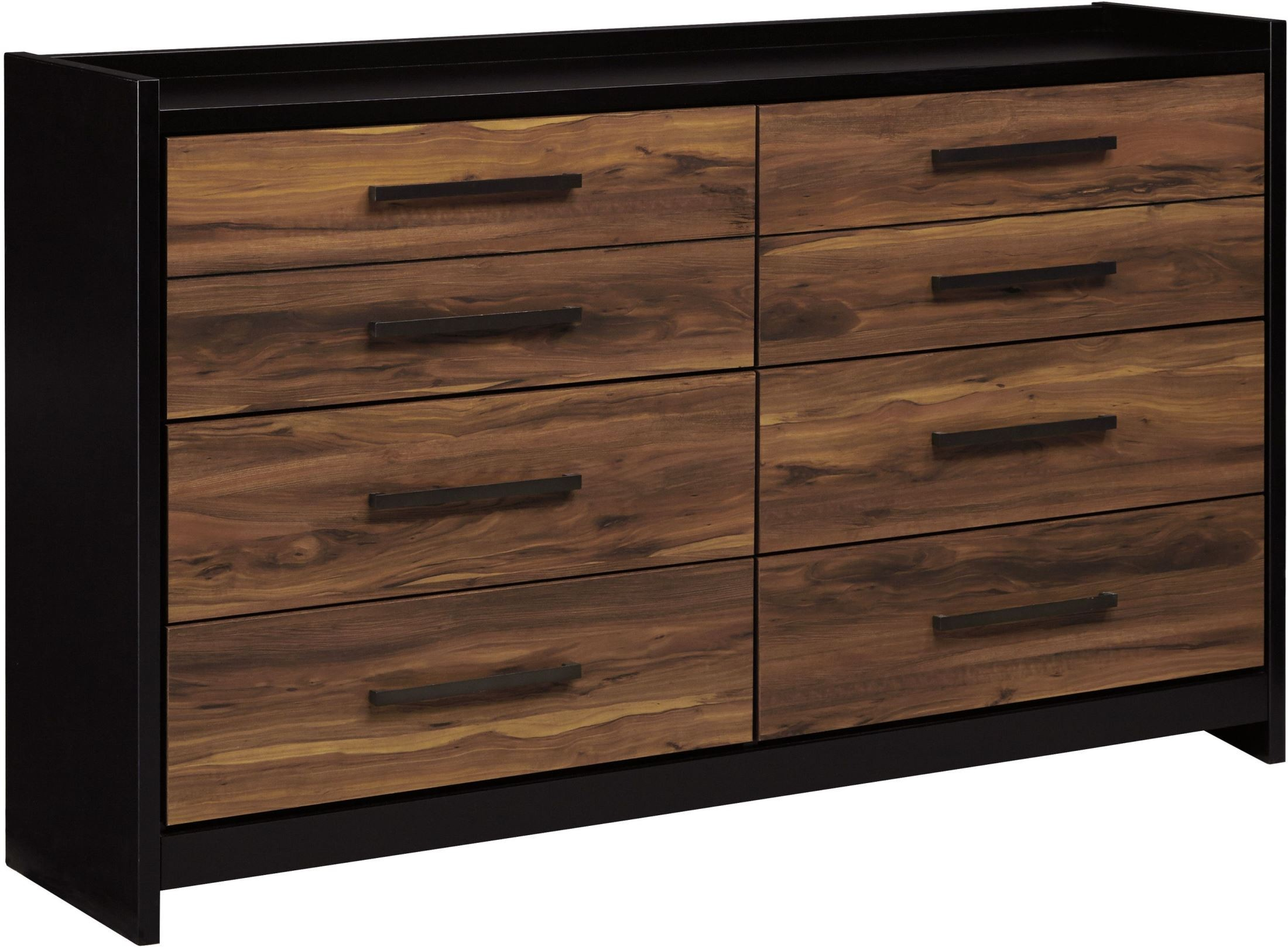 Stavani Black and Brown Dresser from Ashley