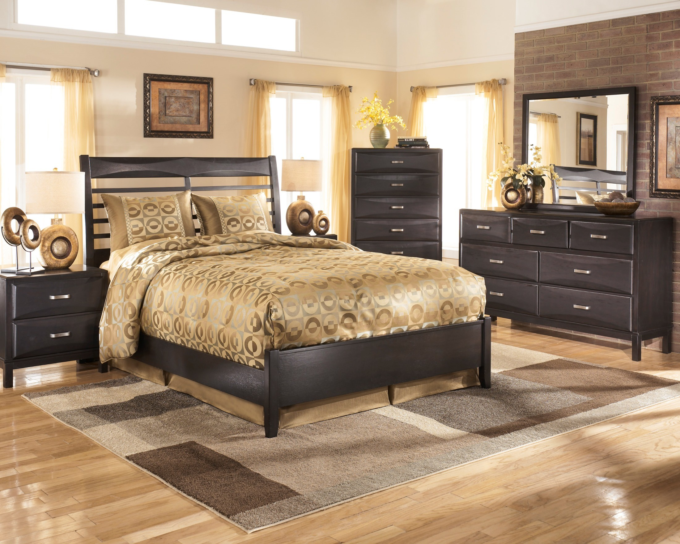 Kira Queen Panel Bed From Ashley B473 54 57 96 Coleman Furniture