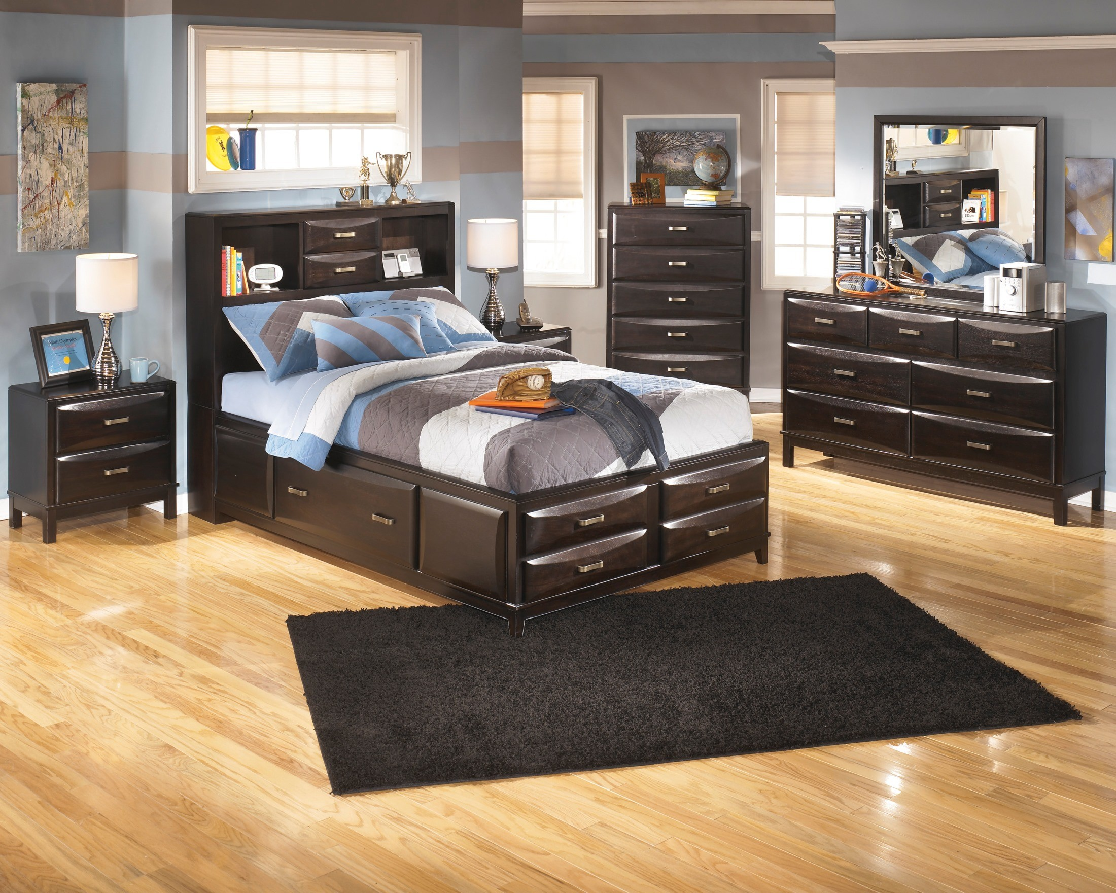 Kira Full Storage Bed From Ashley B473 77 74 88 Coleman Furniture