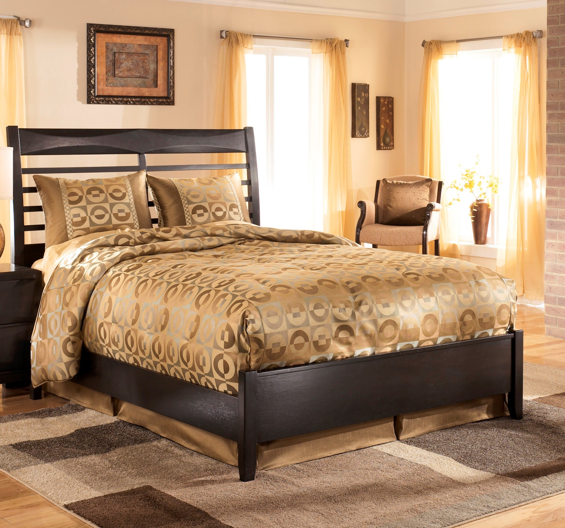 Kira Queen Panel Bed From Ashley B473 54 57 96 Coleman