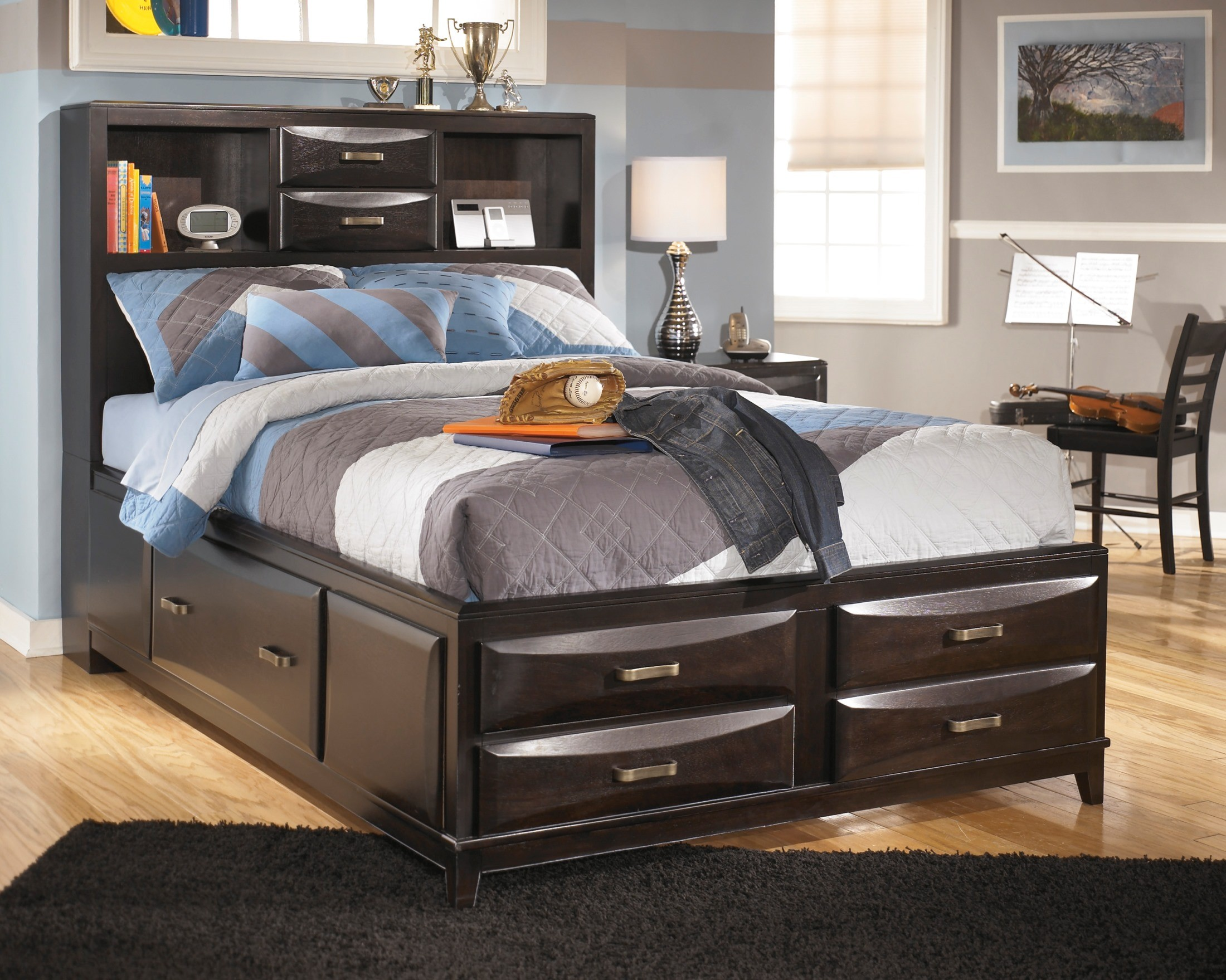 ashleys furniture beds storage bed from b473 77 74 88 10122