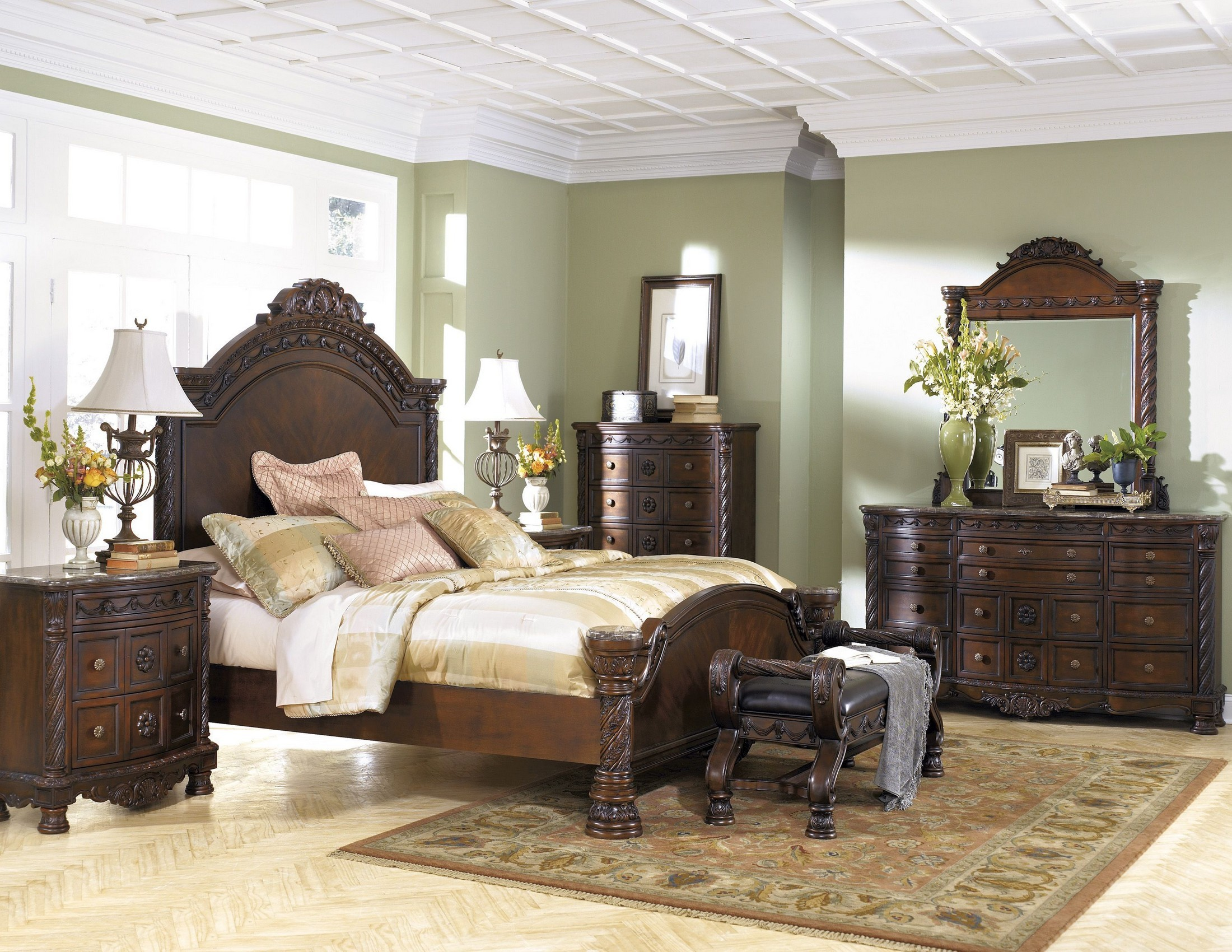 Bedroom sets coleman furniture - North Shore Panel Bedroom Set