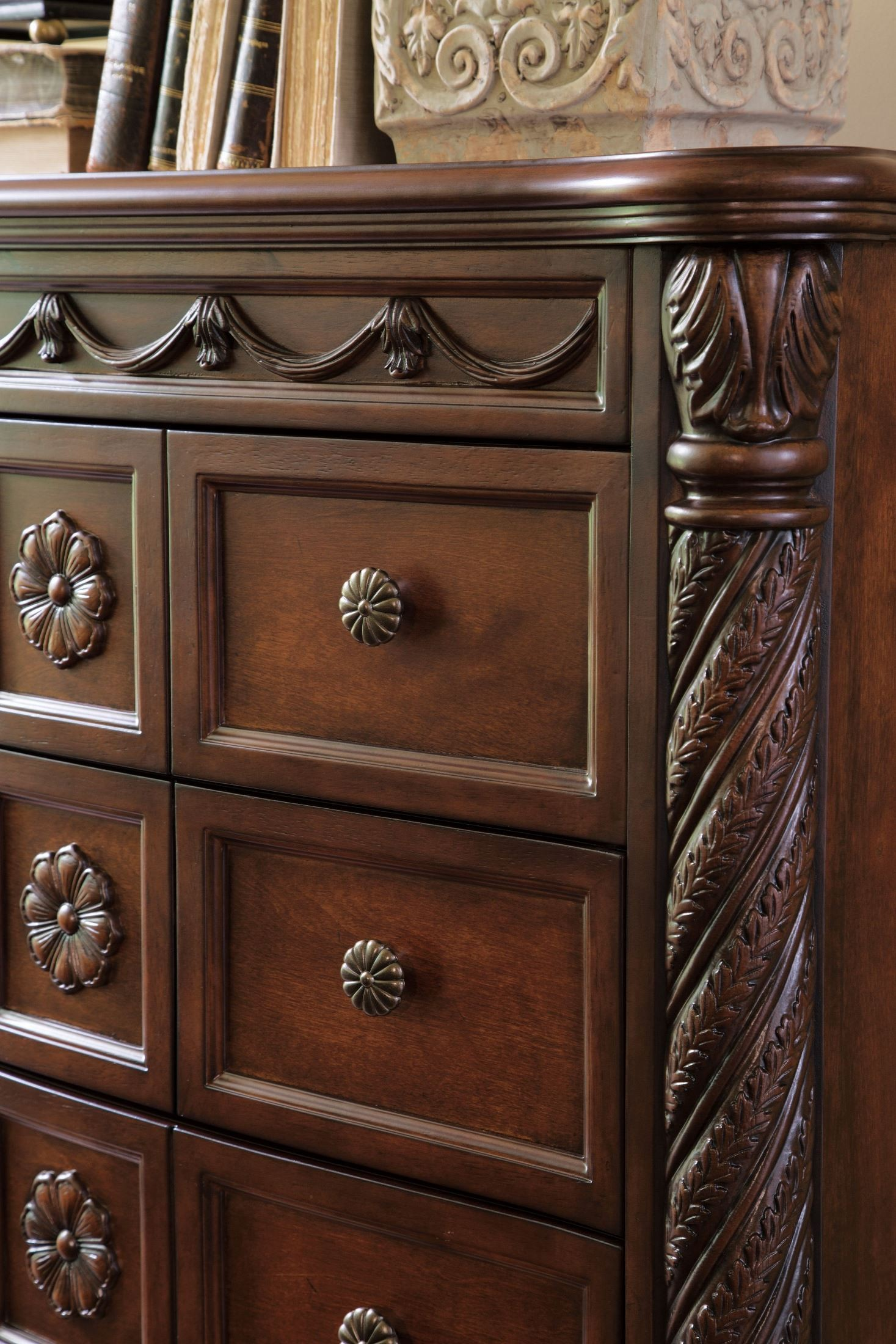 North shore chest from ashley b553 46 coleman furniture - North shore sleigh bedroom set sale ...