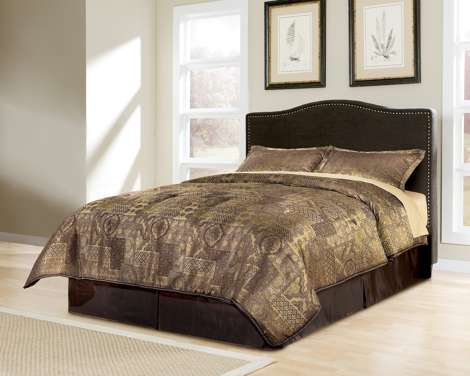 Portland Queen Upholstered Bed From Ashley B600 357 354