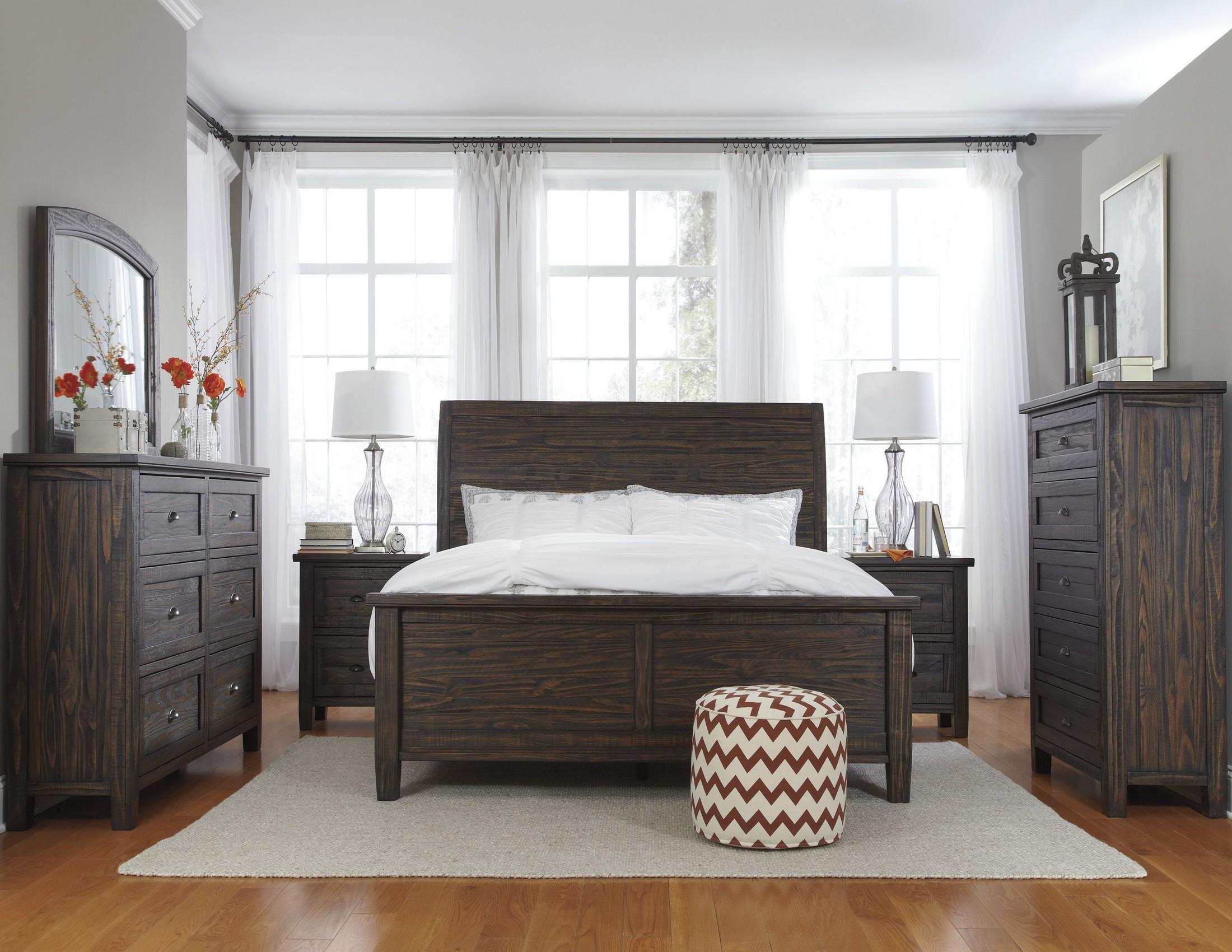 Trudell Dark Brown Bedroom Set from Ashley (B658-54-57-96 ...