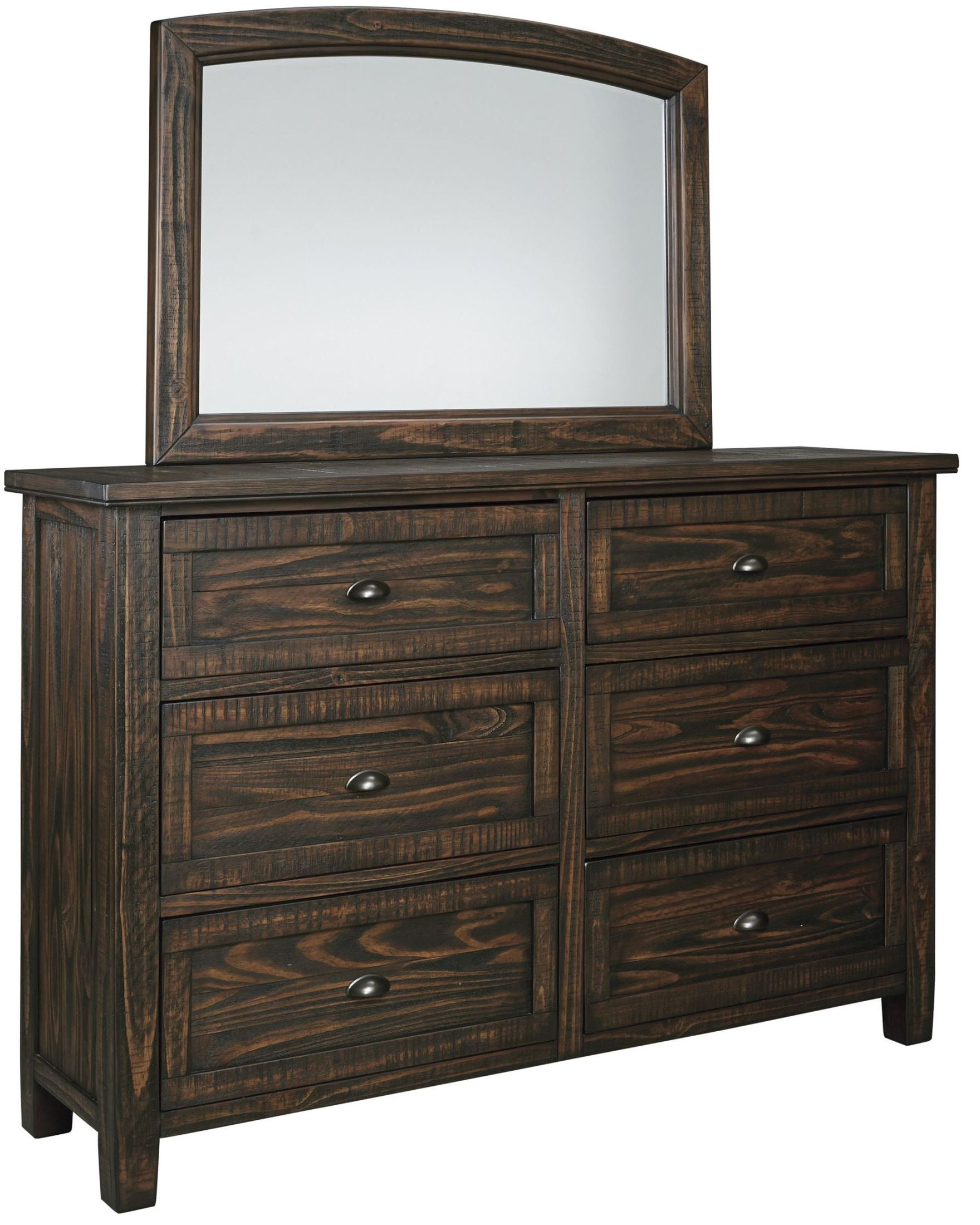 Trudell Dark Brown Bedroom Set From Ashley B658 54 57 96 Coleman Furniture