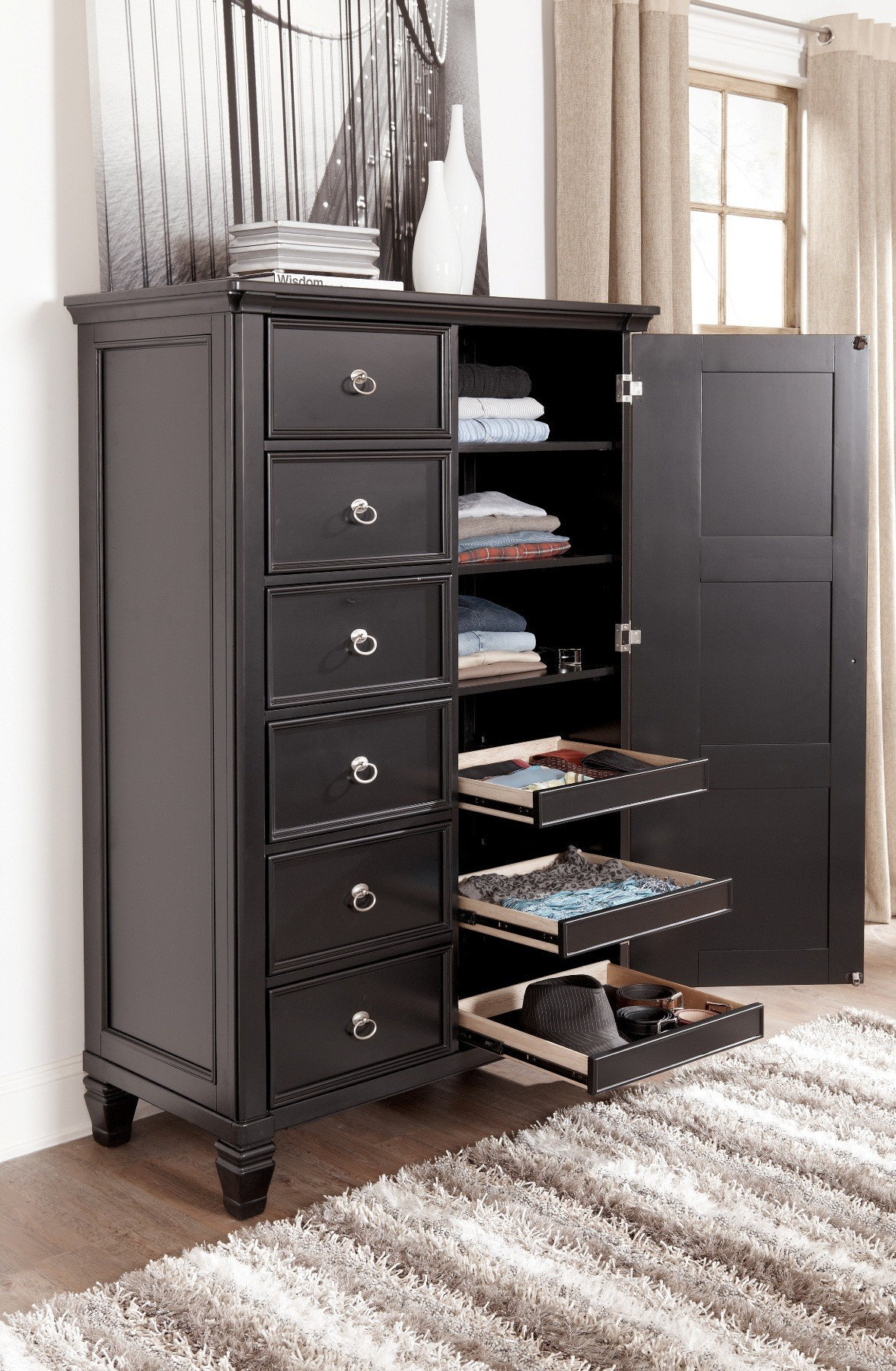 Greensburg Door Chest From Ashley B671 48 Coleman Furniture
