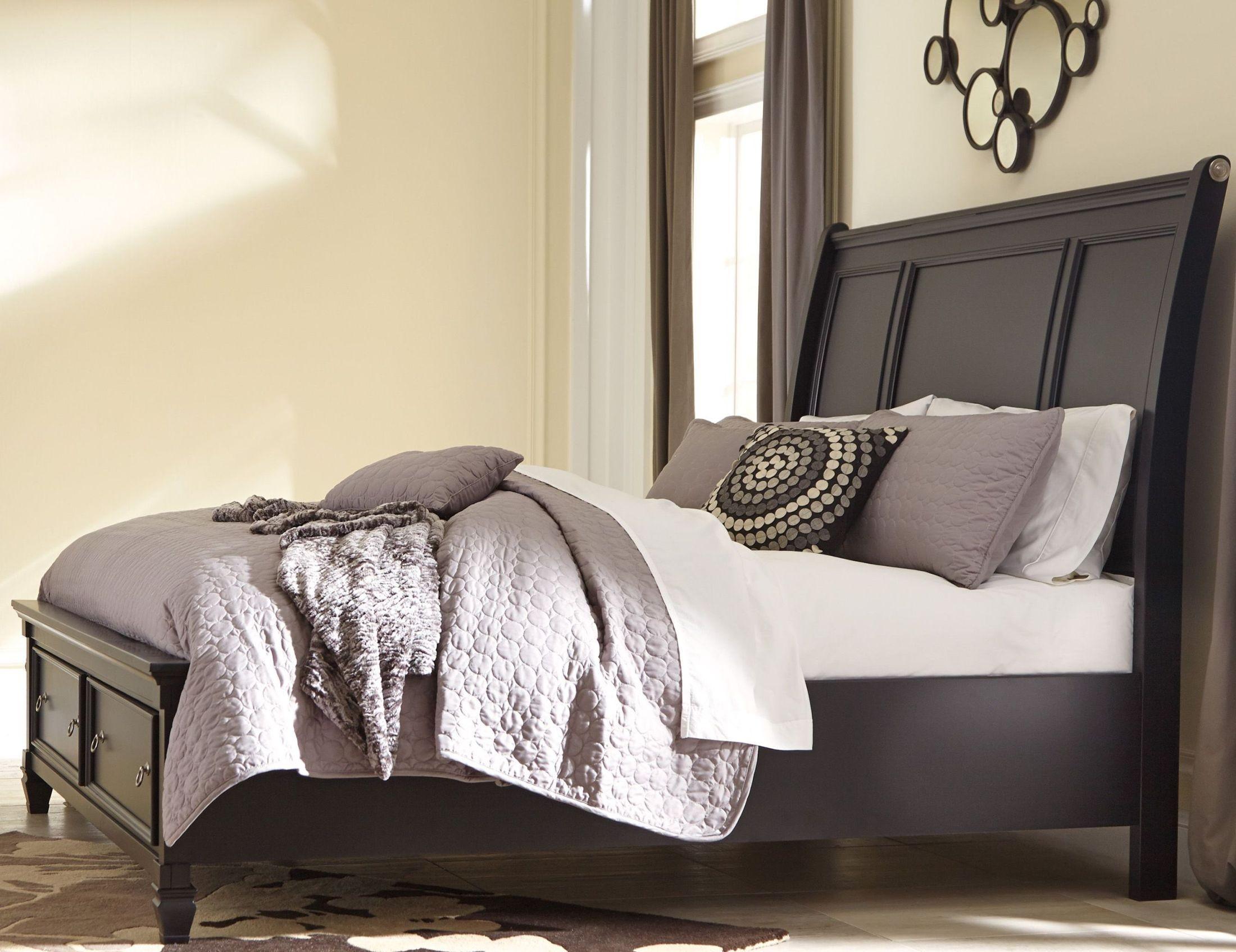Greensburg Storage Sleigh Bedroom Set from Ashley (B671) | Coleman ...
