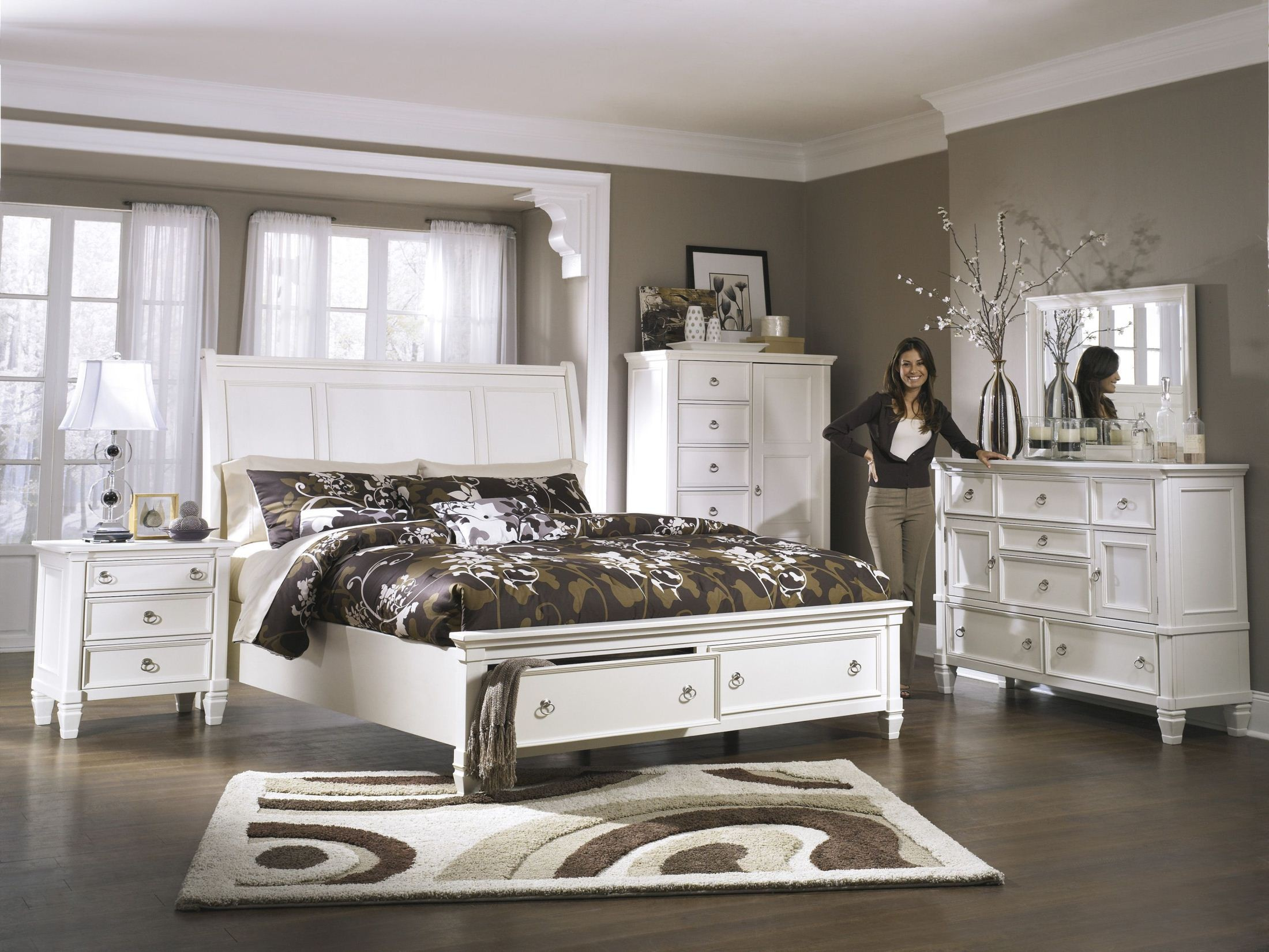 Prentice King Storage Sleigh Bed from Ashley B672 78 76 99