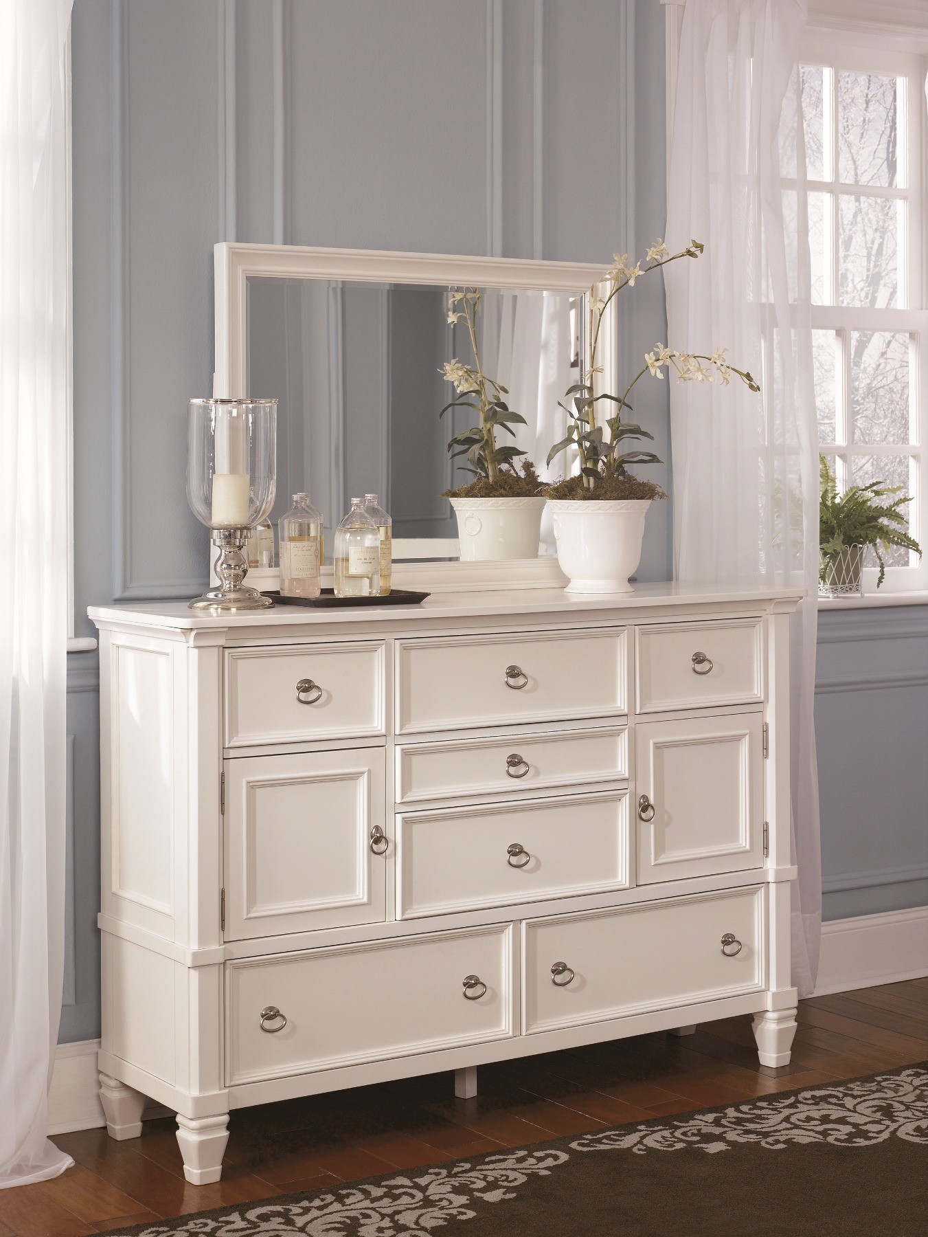 Prentice Storage Sleigh Bedroom Set from Ashley (B672) | Coleman ...